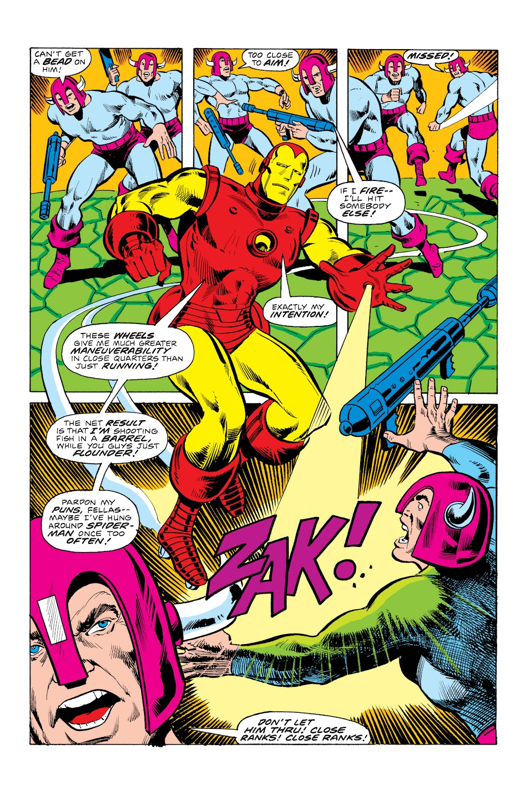 Read online Marvel Masterworks: The Invincible Iron Man comic -  Issue # TPB 10 (Part 3) - 37