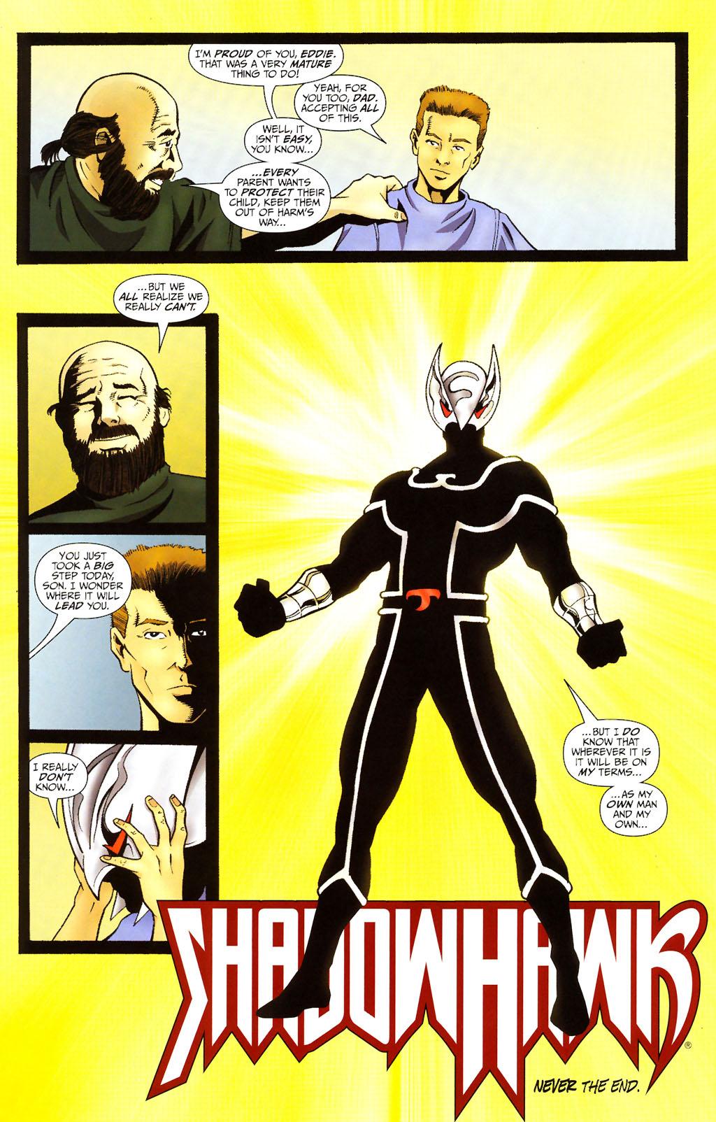 Read online ShadowHawk (2005) comic -  Issue #13 - 29
