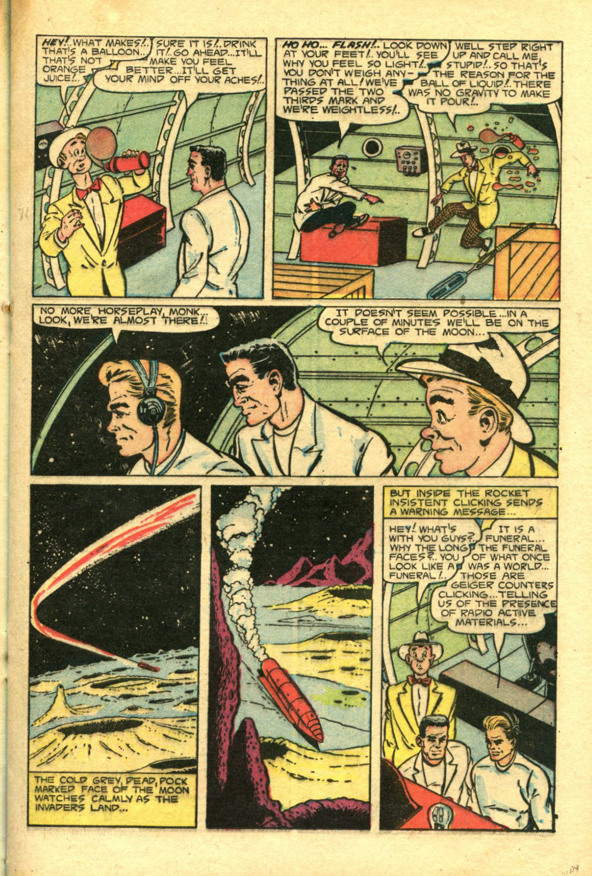 Read online Shadow Comics comic -  Issue #98 - 21
