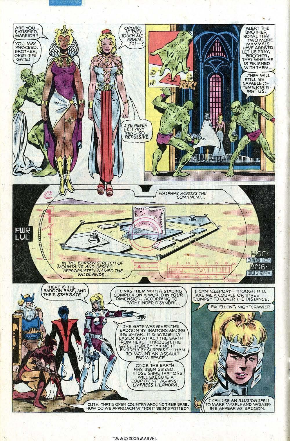 Read online Uncanny X-Men (1963) comic -  Issue # _Annual 5 - 26