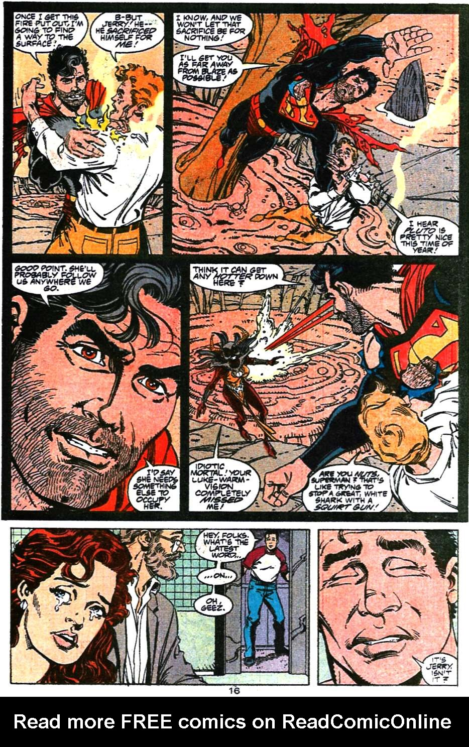Read online Adventures of Superman (1987) comic -  Issue #470 - 17