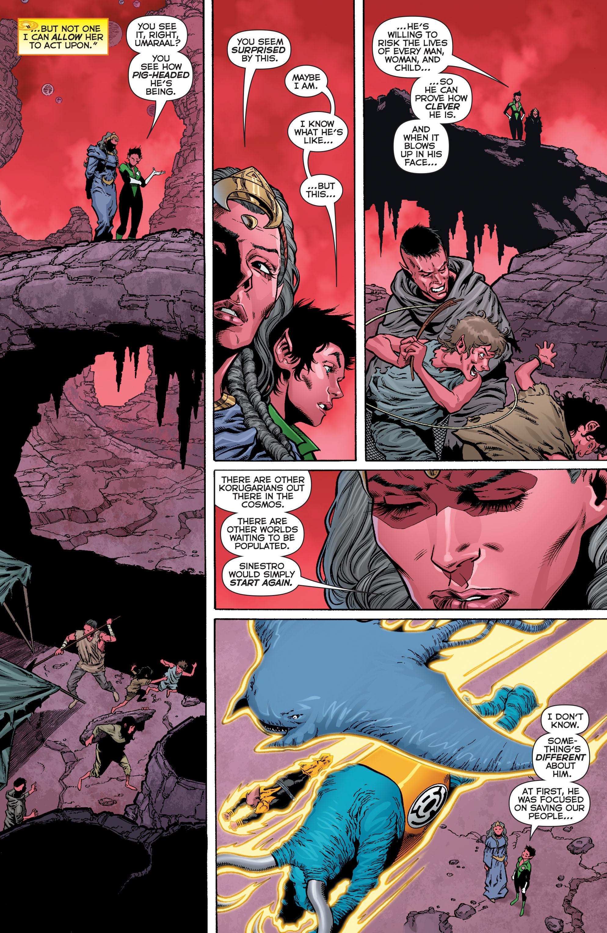 Read online Sinestro comic -  Issue #12 - 9