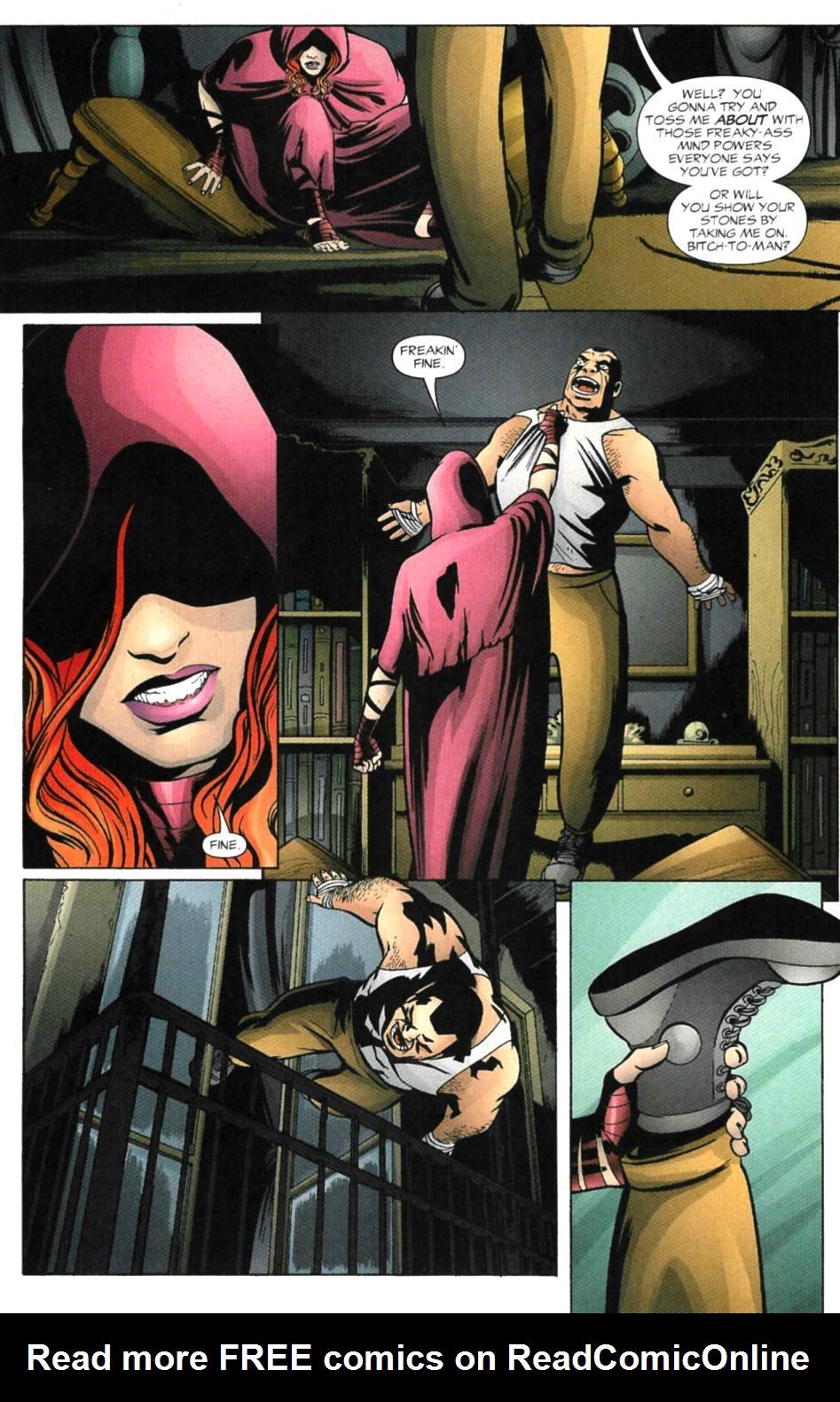 Read online Fallen Angel (2003) comic -  Issue #4 - 4