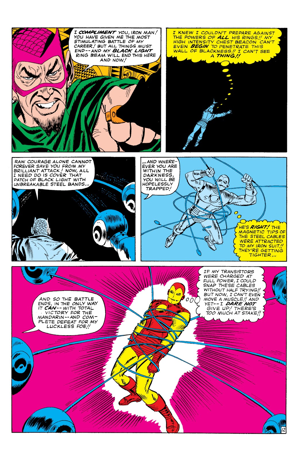 Read online Marvel Masterworks: The Invincible Iron Man comic -  Issue # TPB 2 (Part 1) - 58