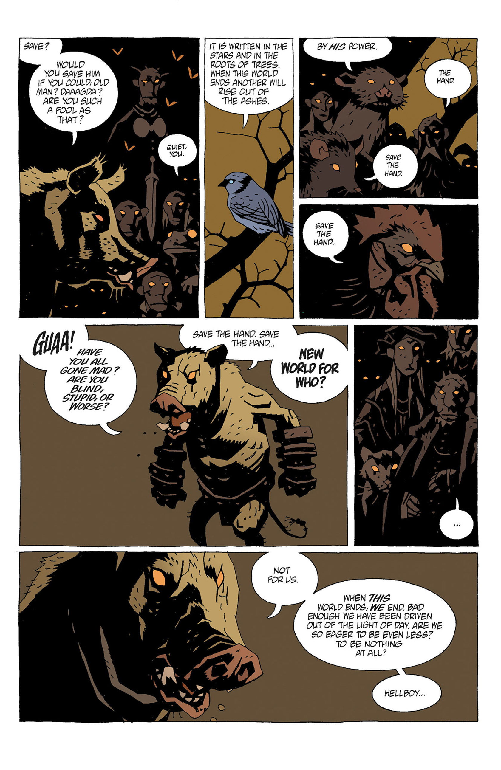 Read online Hellboy: Strange Places comic -  Issue # TPB - 47