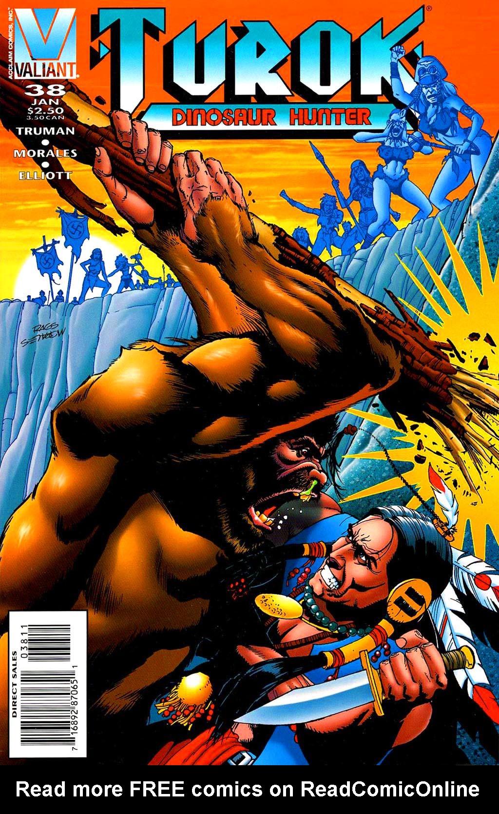 Read online Turok, Dinosaur Hunter (1993) comic -  Issue #38 - 2