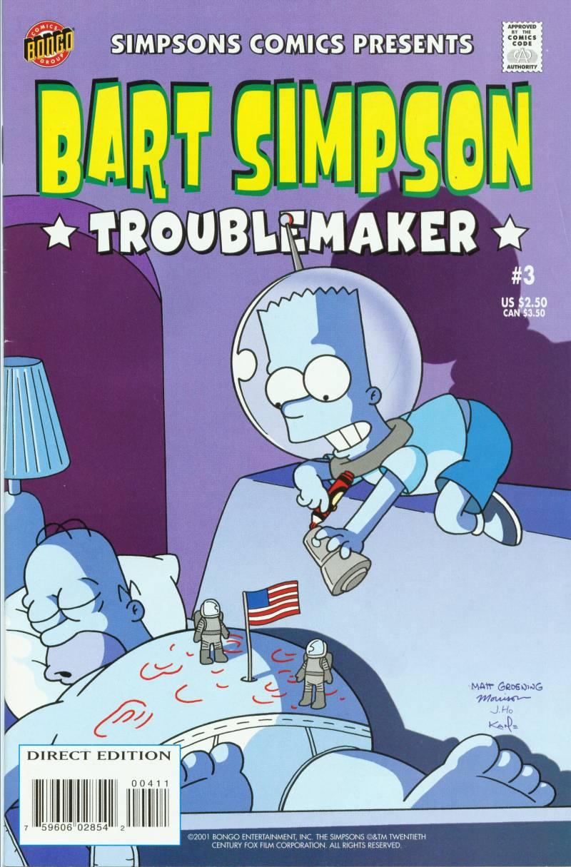Read online Simpsons Comics Presents Bart Simpson comic -  Issue #3 - 1
