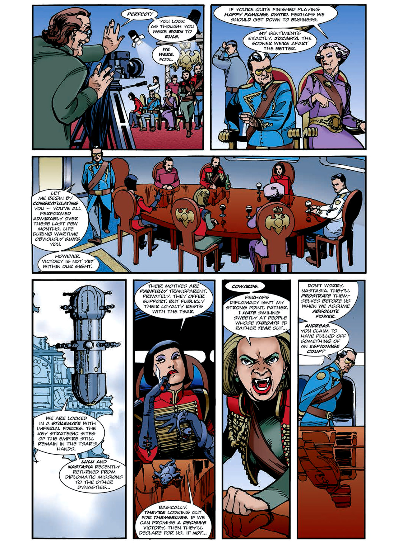 Read online Nikolai Dante comic -  Issue # TPB 4 - 109