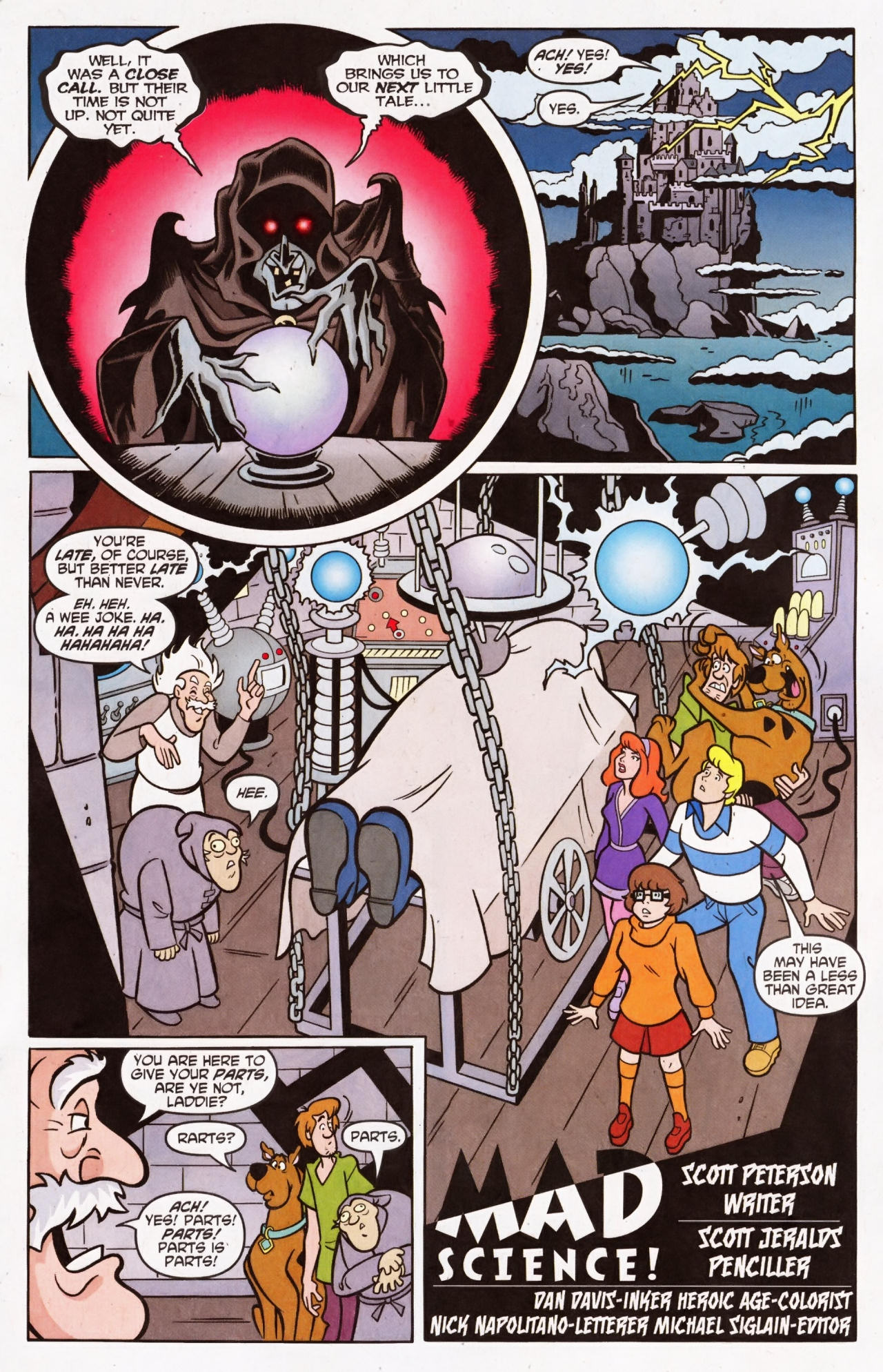 Read online Scooby-Doo (1997) comic -  Issue #137 - 11