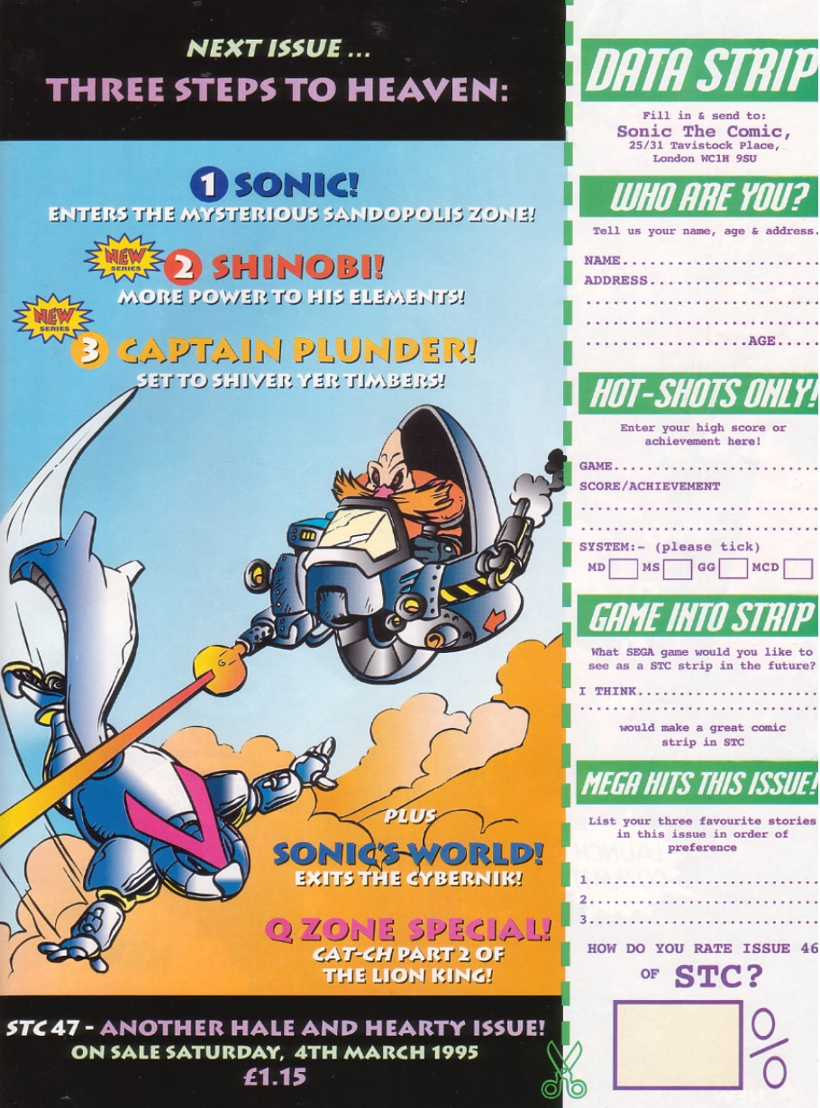 Read online Sonic the Comic comic -  Issue #46 - 31