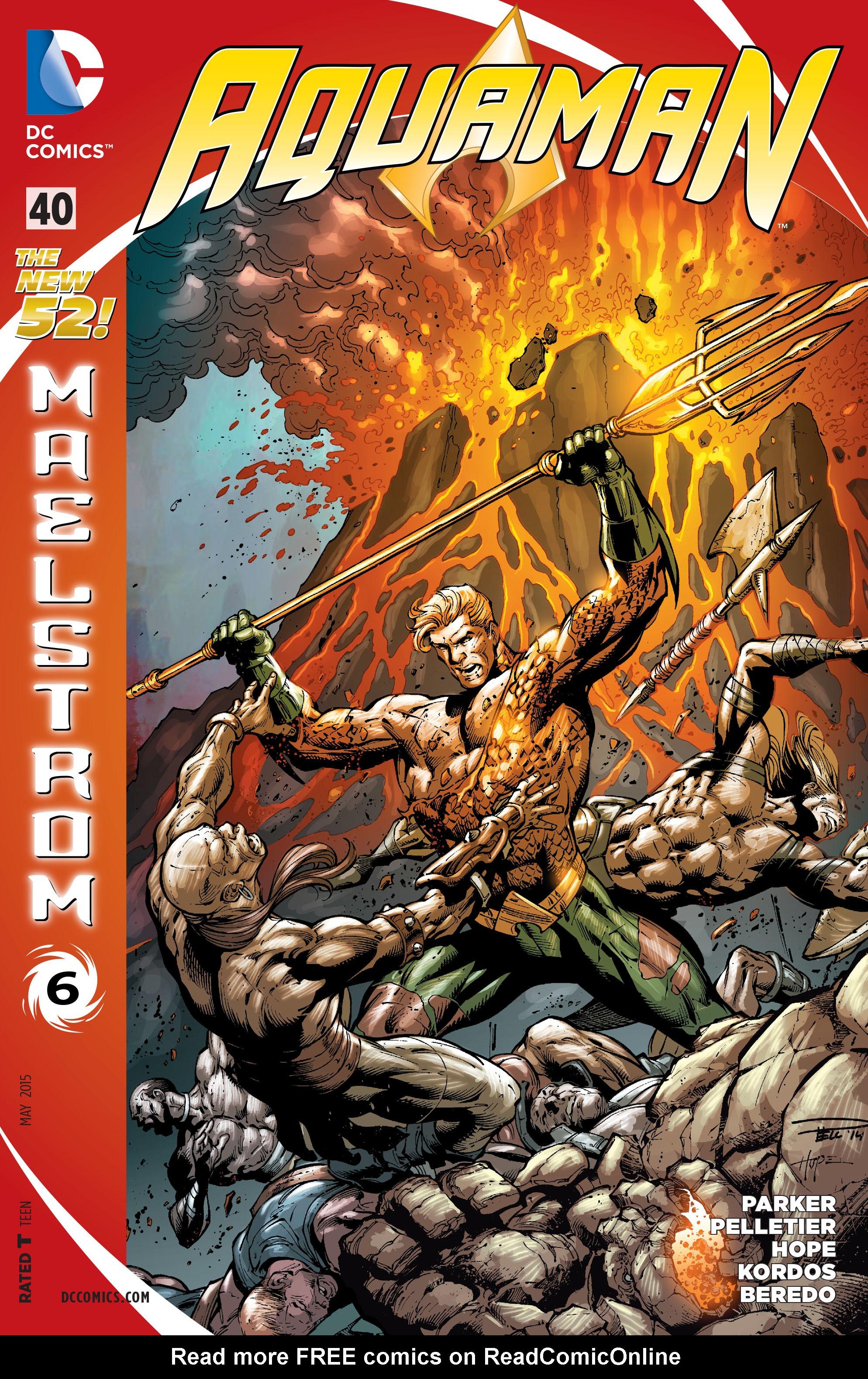 Read online Aquaman (2011) comic -  Issue #40 - 1