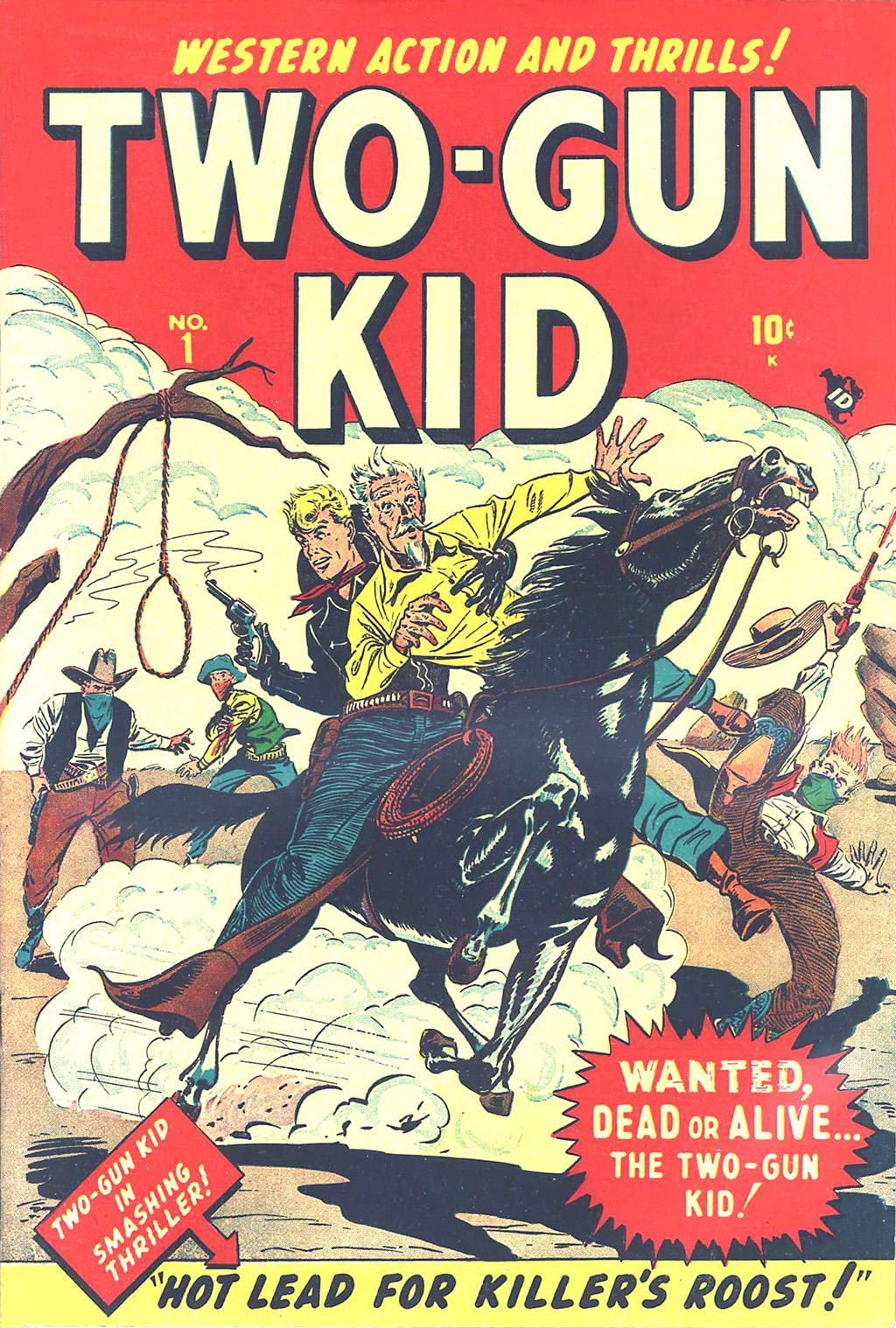 Read online Two-Gun Kid comic -  Issue #1 - 1