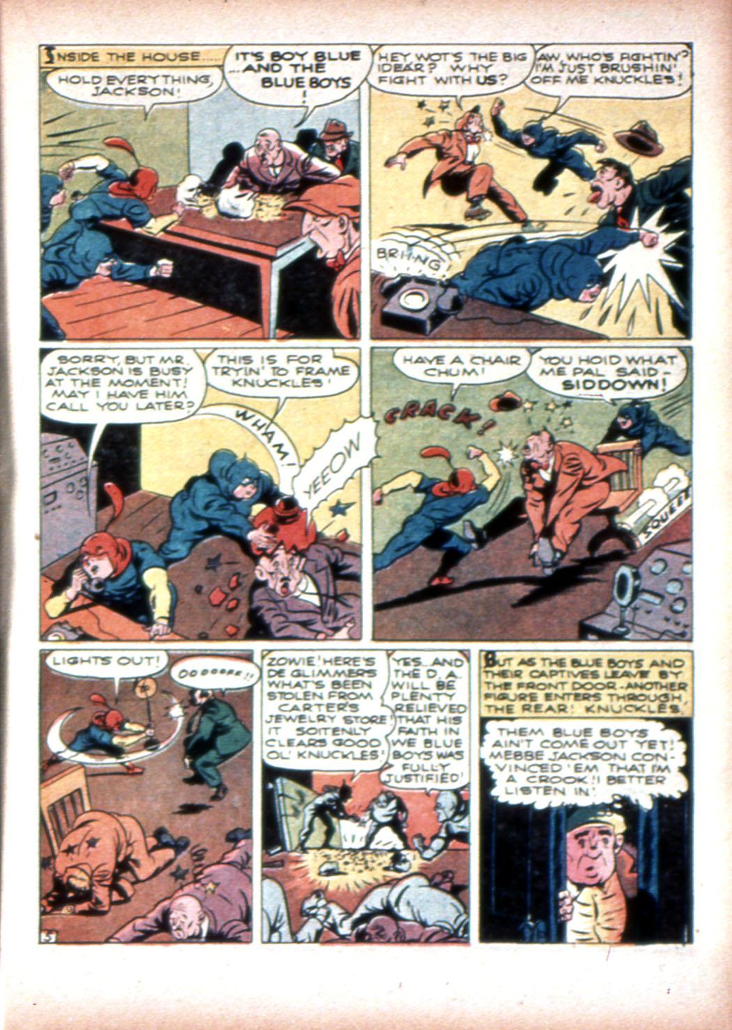 Read online Sensation (Mystery) Comics comic -  Issue #19 - 21