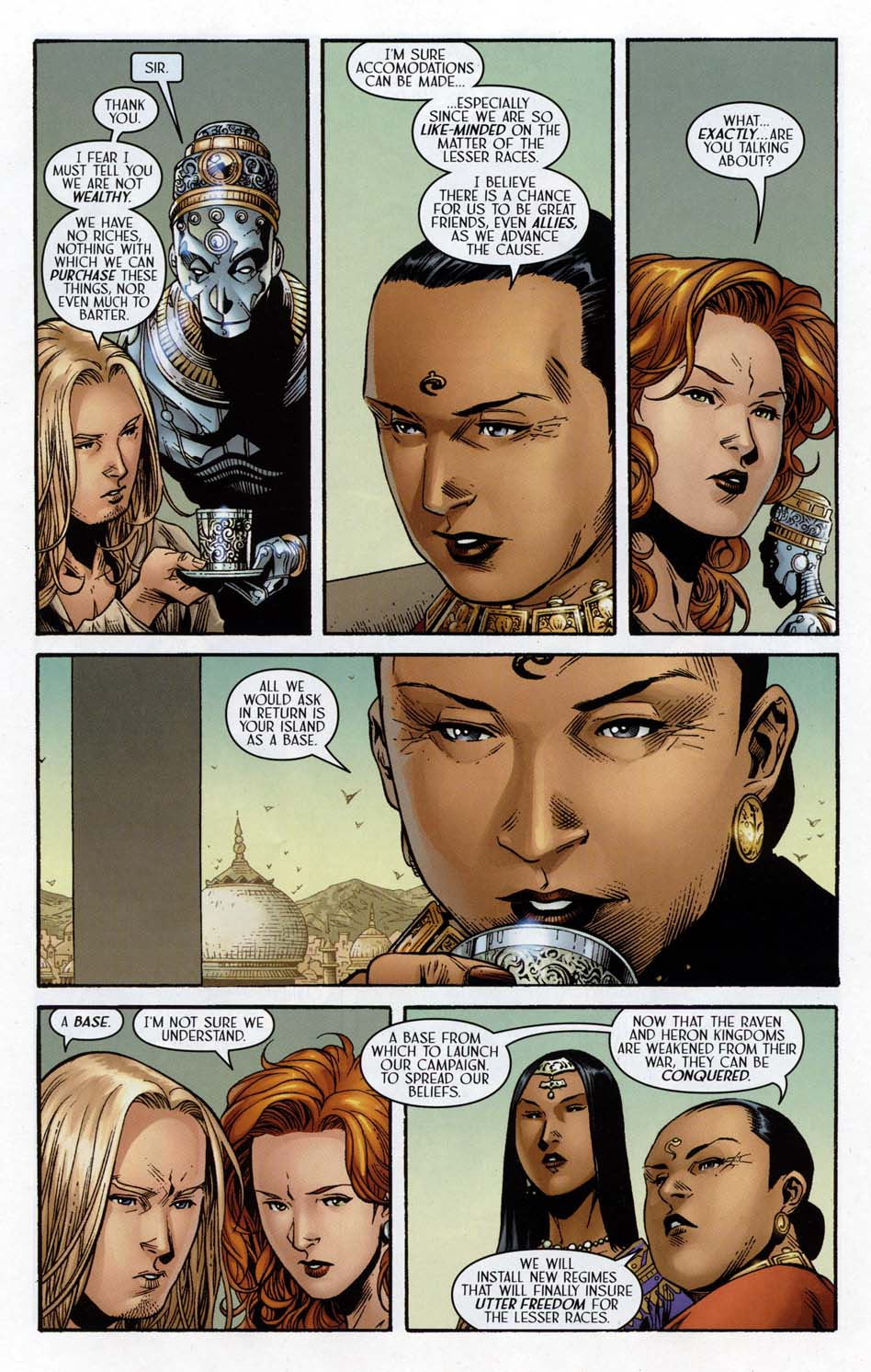 Read online Scion comic -  Issue #32 - 16