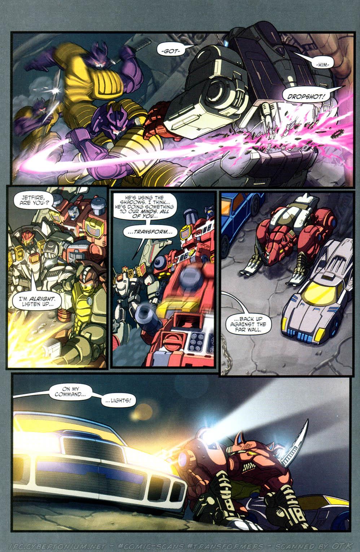 Read online Transformers Armada comic -  Issue #16 - 18