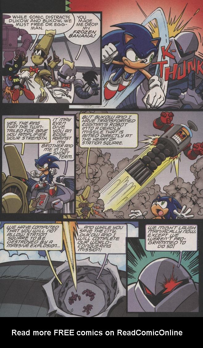 Read online Sonic X comic -  Issue #22 - 27