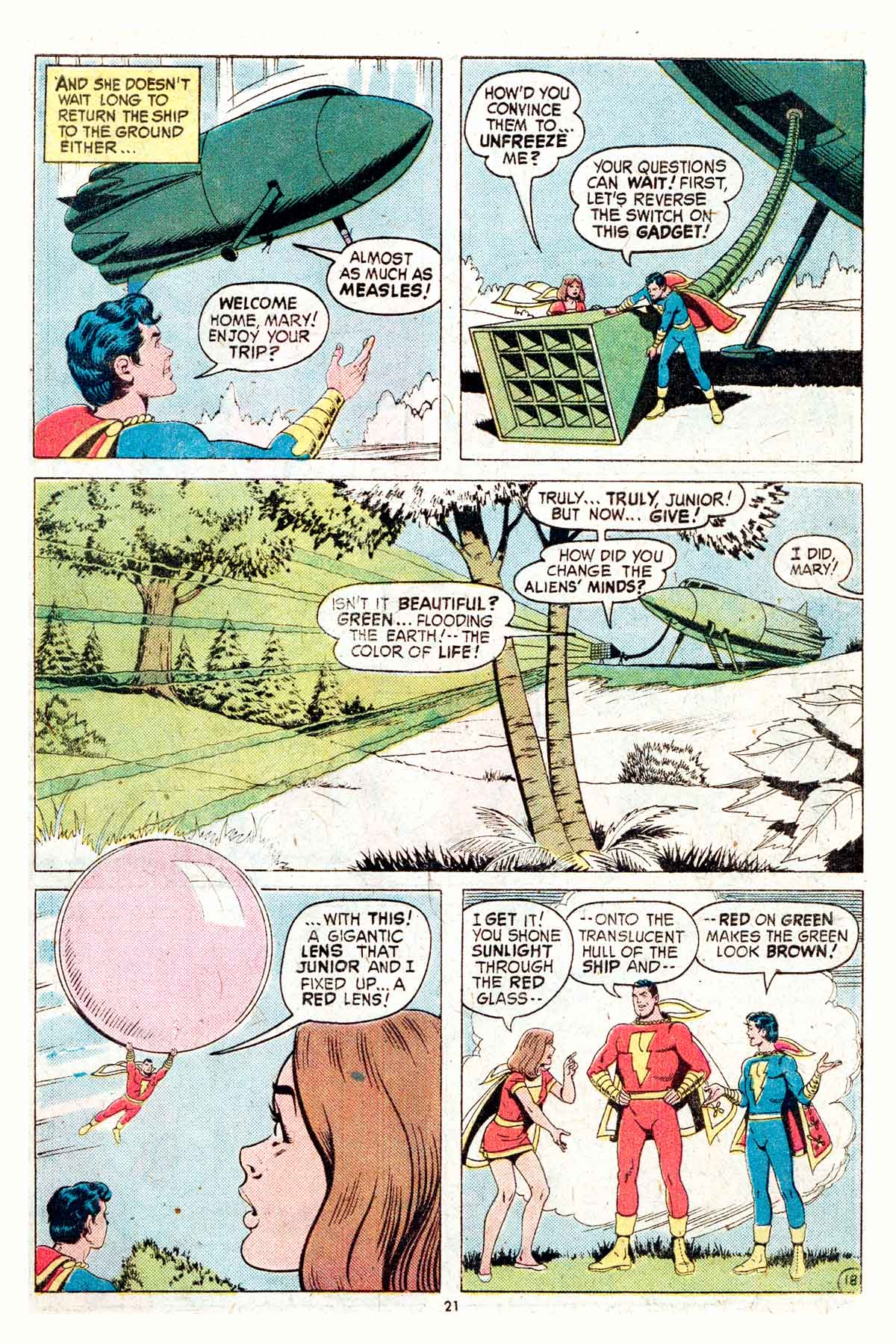 Read online Shazam! (1973) comic -  Issue #17 - 21
