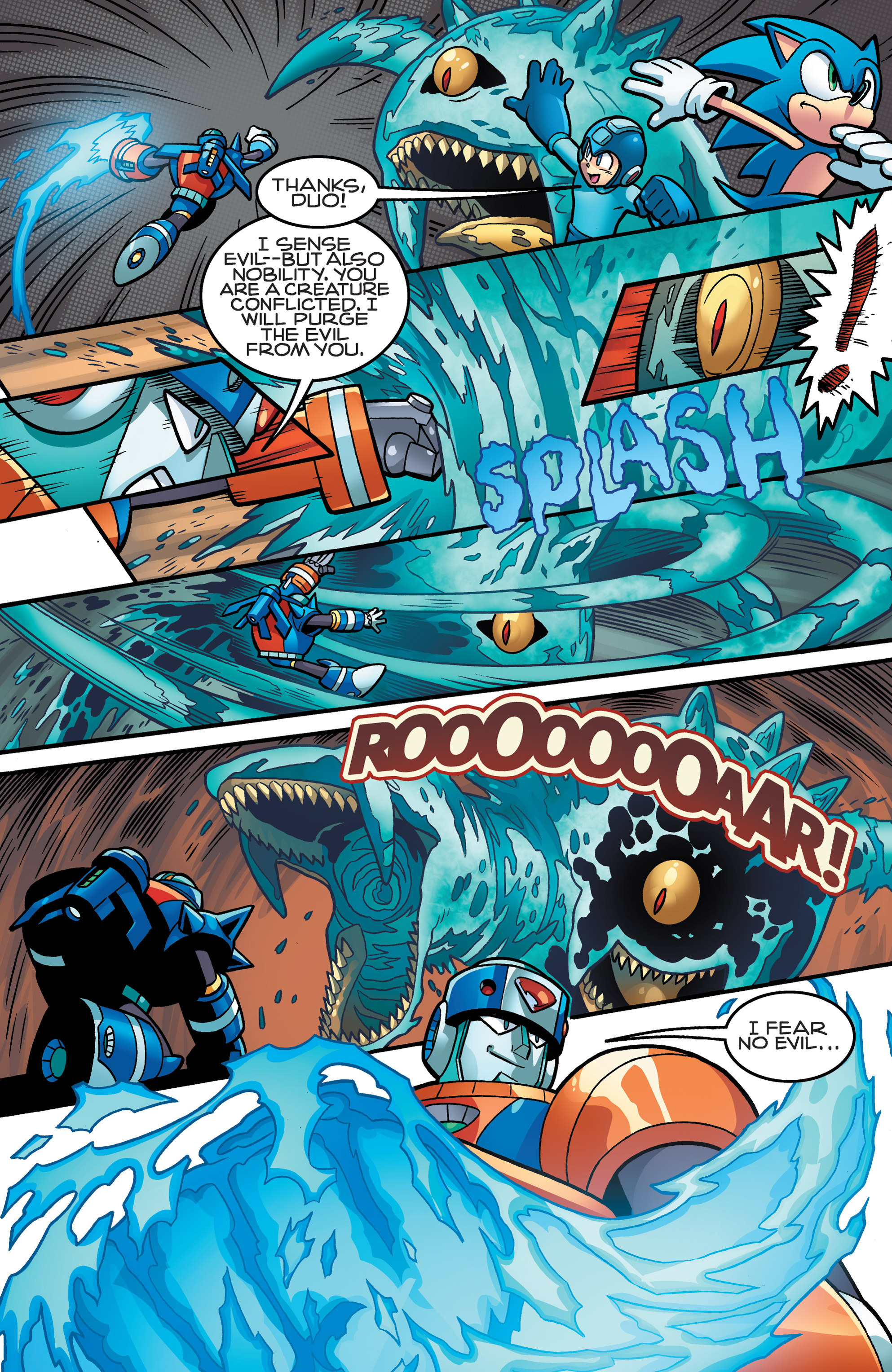 Read online Sonic Mega Man Worlds Collide comic -  Issue # Vol 3 - 66