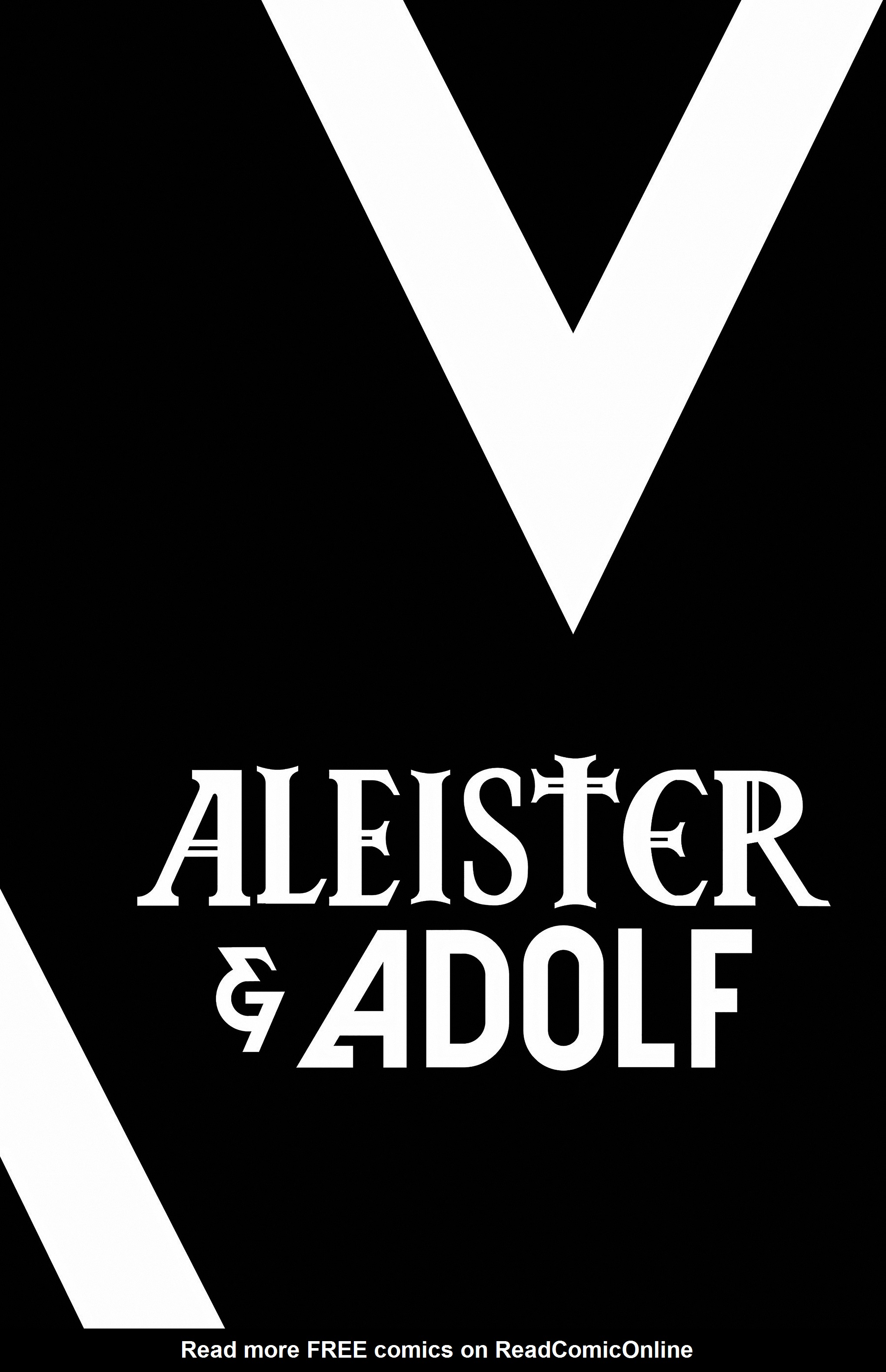 Read online Aleister & Adolf comic -  Issue # TPB - 3