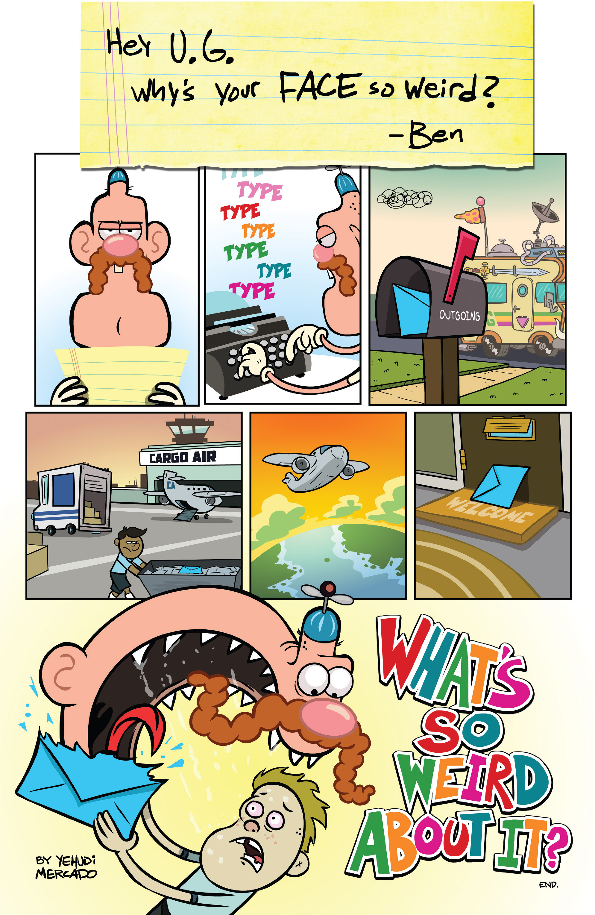 Read online Uncle Grandpa comic -  Issue #3 - 23