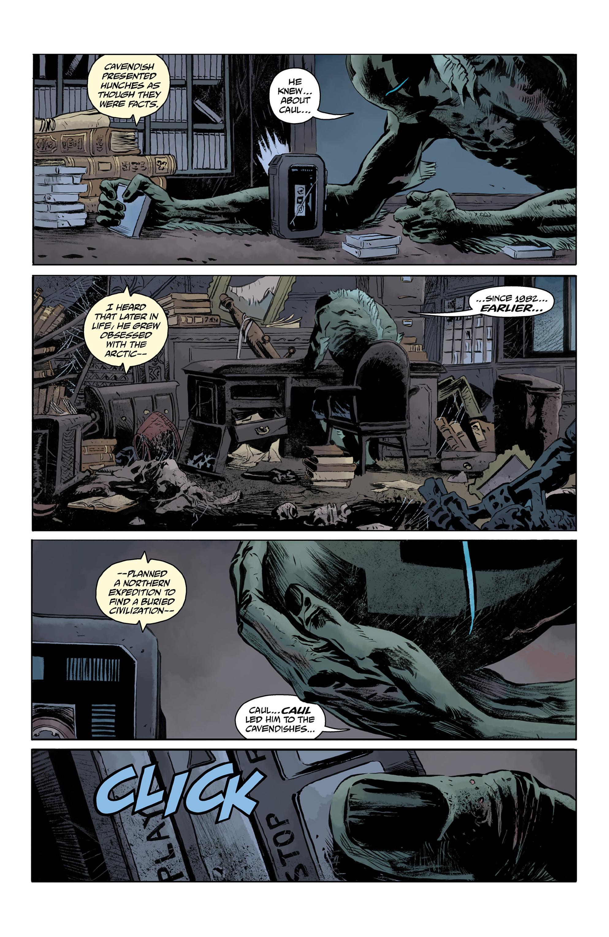Read online Abe Sapien comic -  Issue #32 - 13