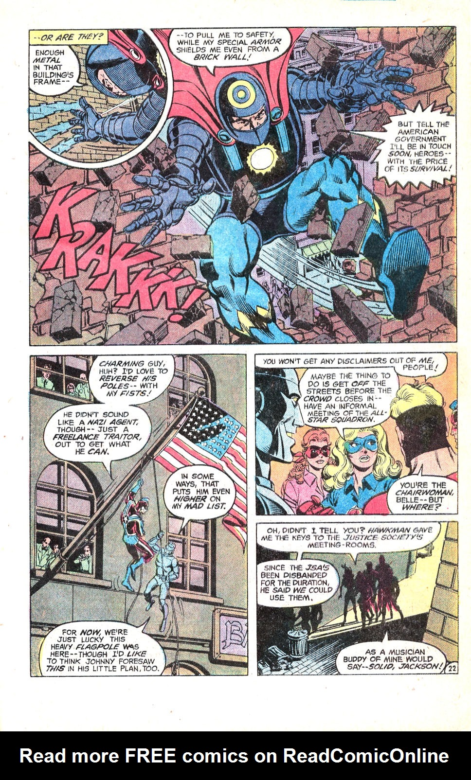 Read online All-Star Squadron comic -  Issue #14 - 30
