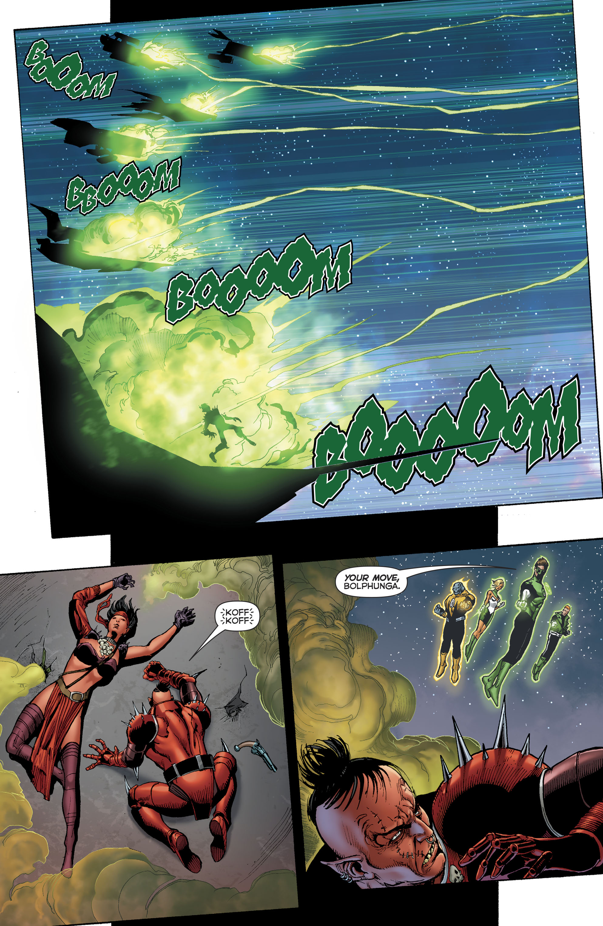 Read online Hal Jordan And The Green Lantern Corps comic -  Issue #22 - 15
