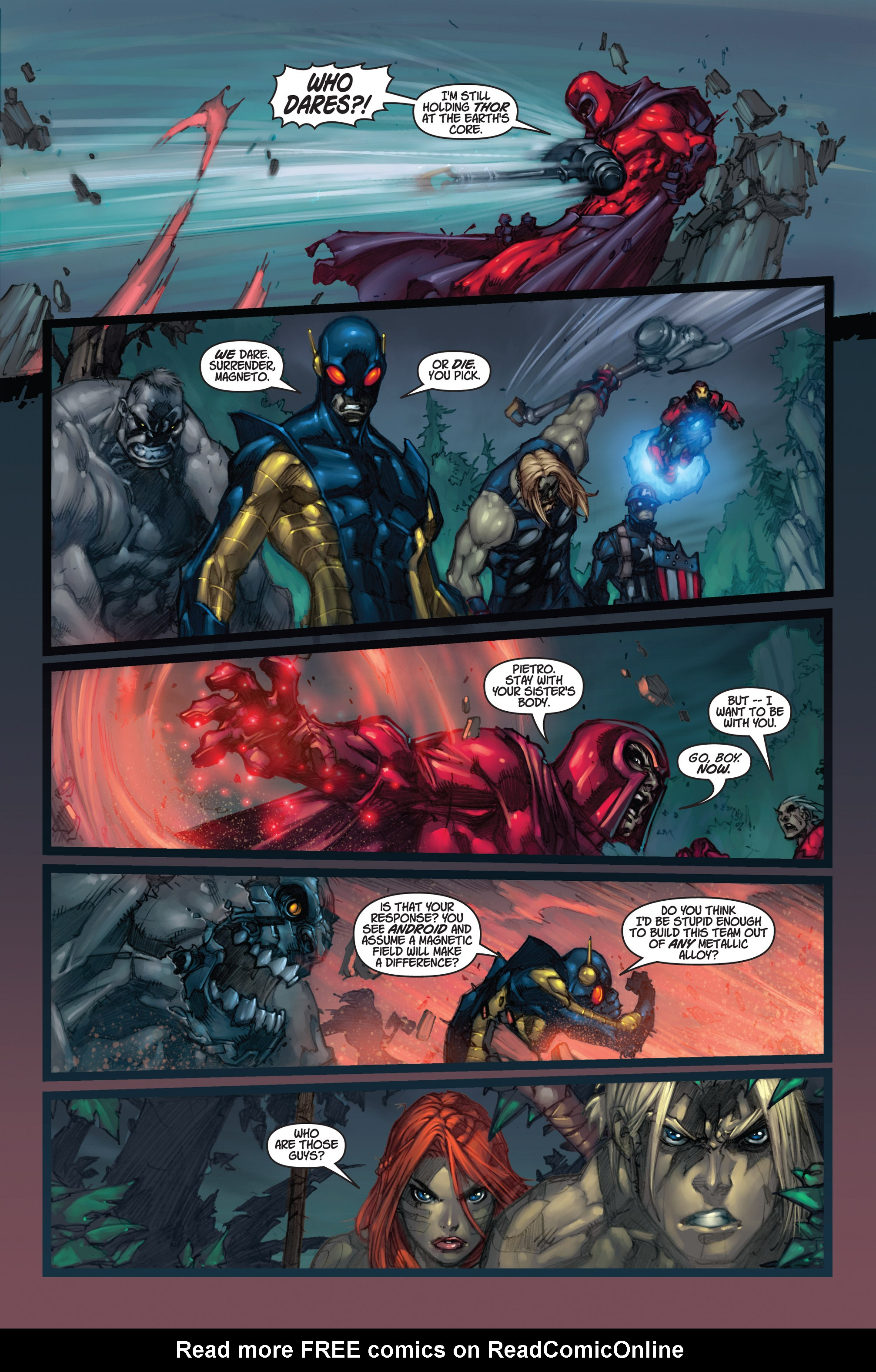 Read online Ultimates 3 comic -  Issue #5 - 14
