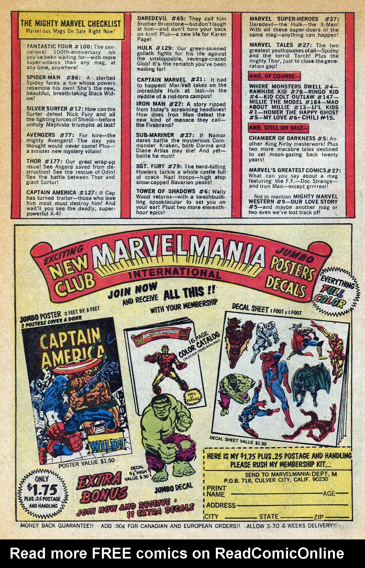 Read online Amazing Adventures (1970) comic -  Issue #1 - 10