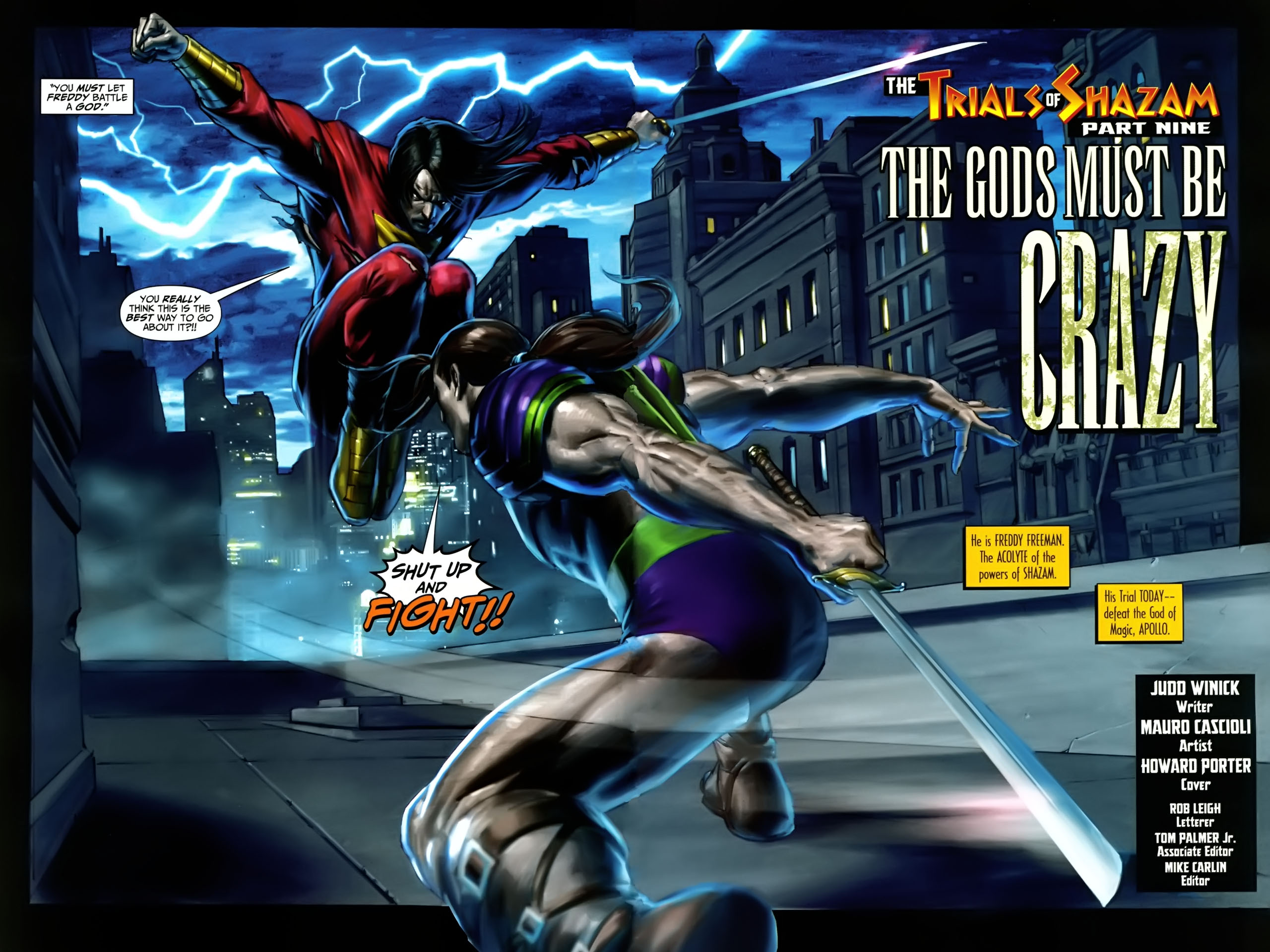 Read online Trials of Shazam comic -  Issue #9 - 3