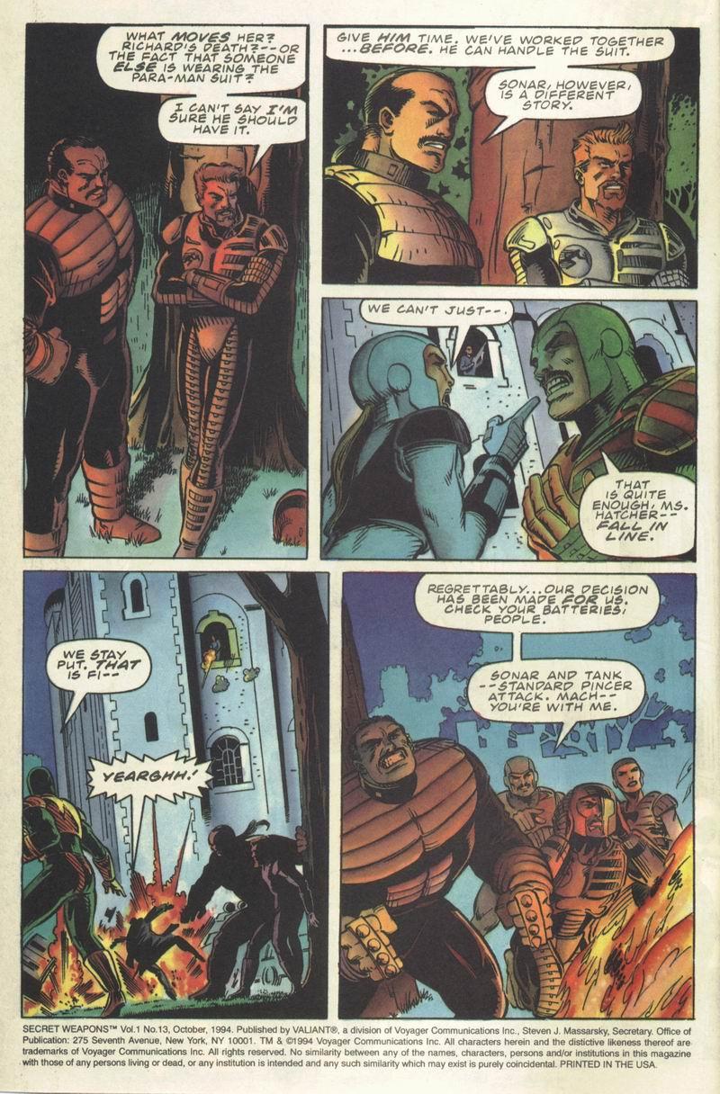 Read online Secret Weapons comic -  Issue #13 - 3