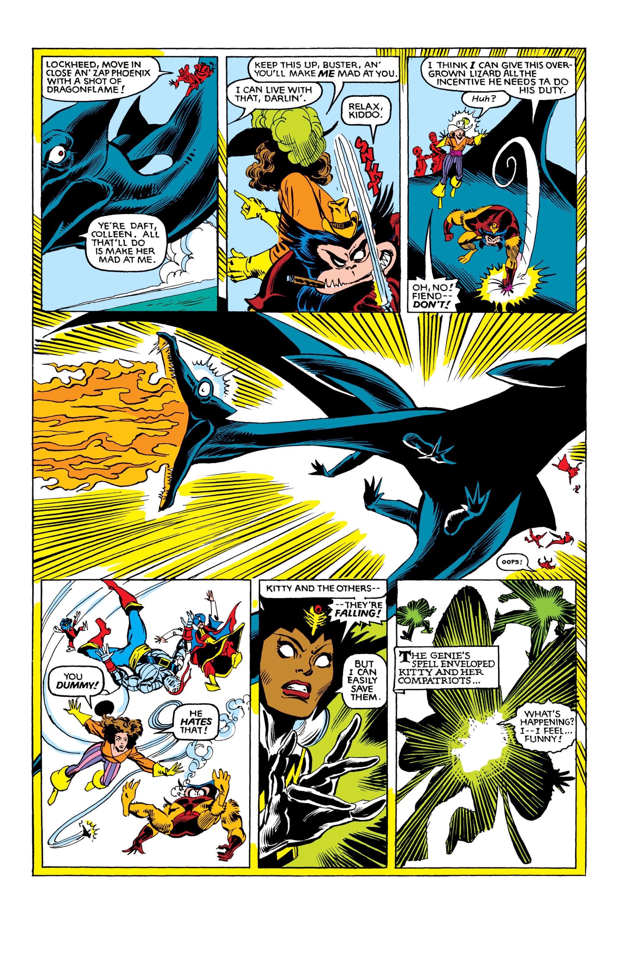 Read online Uncanny X-Men (1963) comic -  Issue #153 - 20