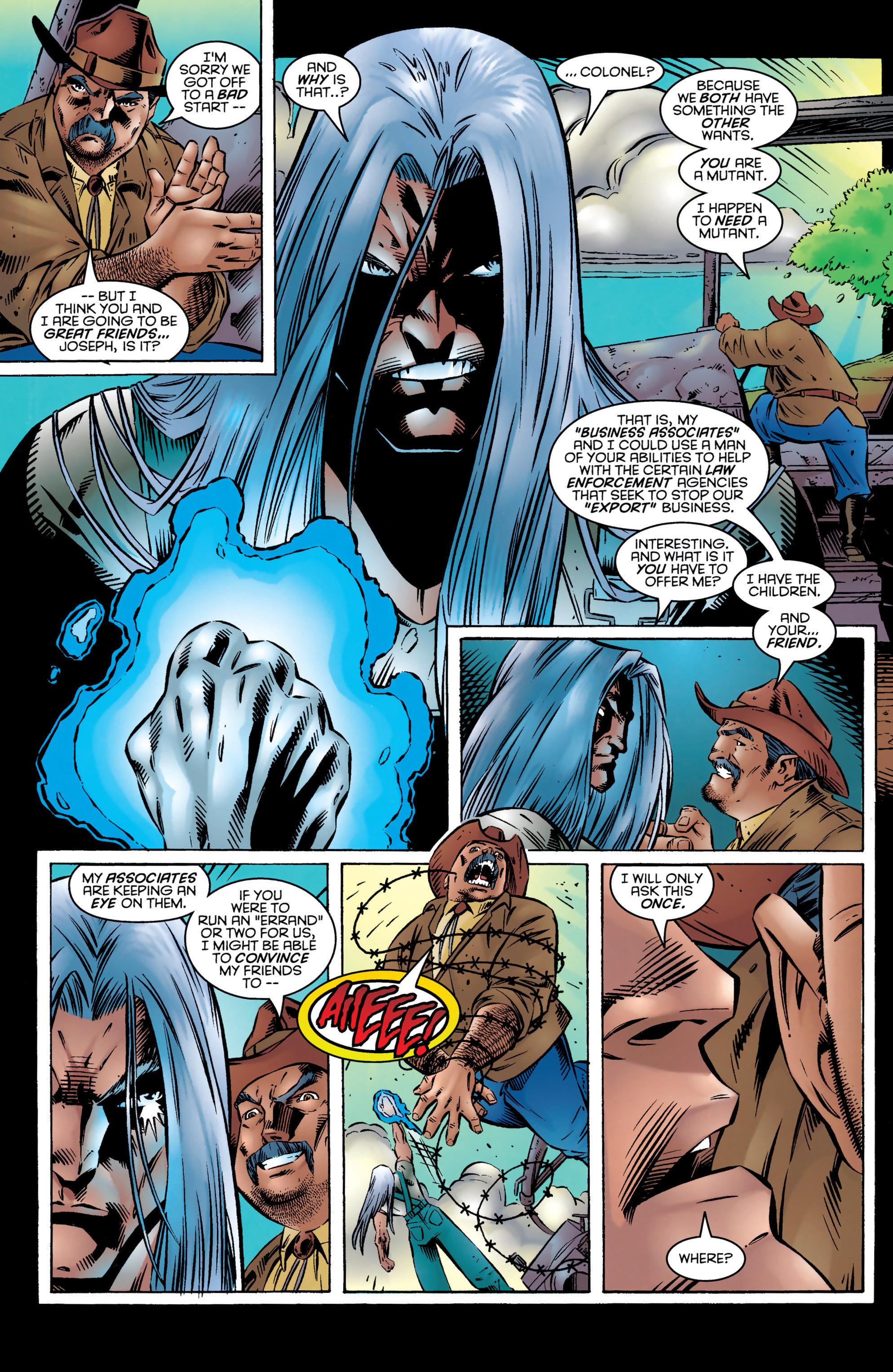 Read online Uncanny X-Men (1963) comic -  Issue #327 - 18