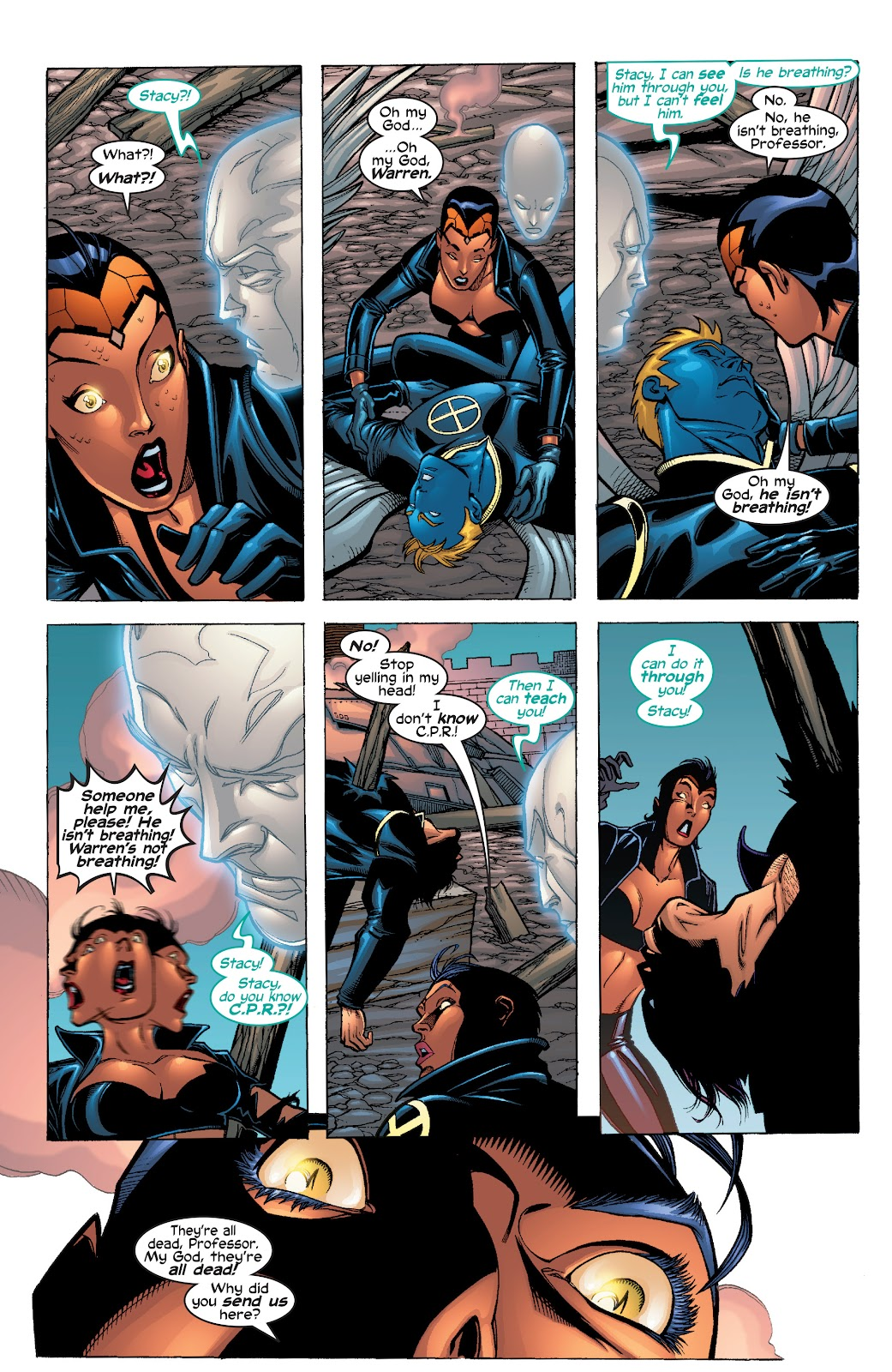 Read online X-Men: Unstoppable comic -  Issue # TPB (Part 1) - 23