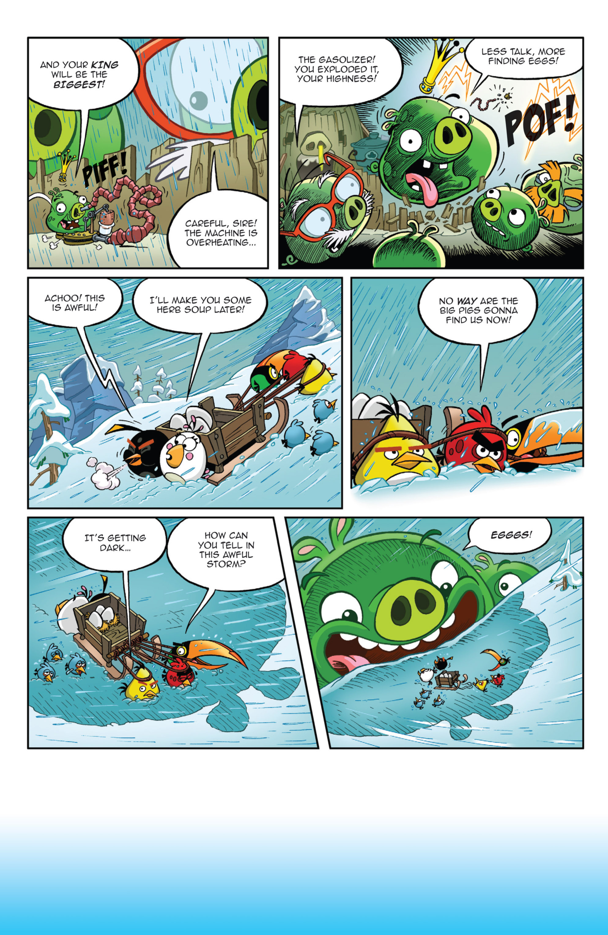 Read online Angry Birds Comics (2014) comic -  Issue #9 - 12