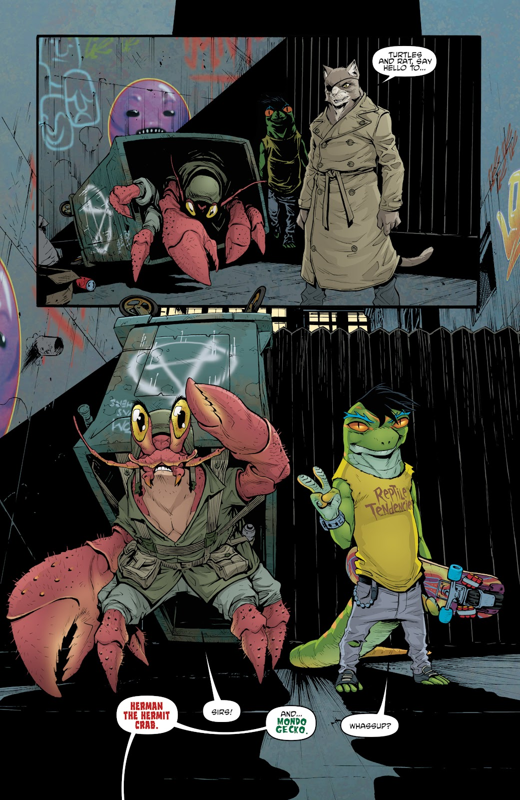 Read online Teenage Mutant Ninja Turtles: The IDW Collection comic -  Issue # TPB 5 (Part 2) - 18