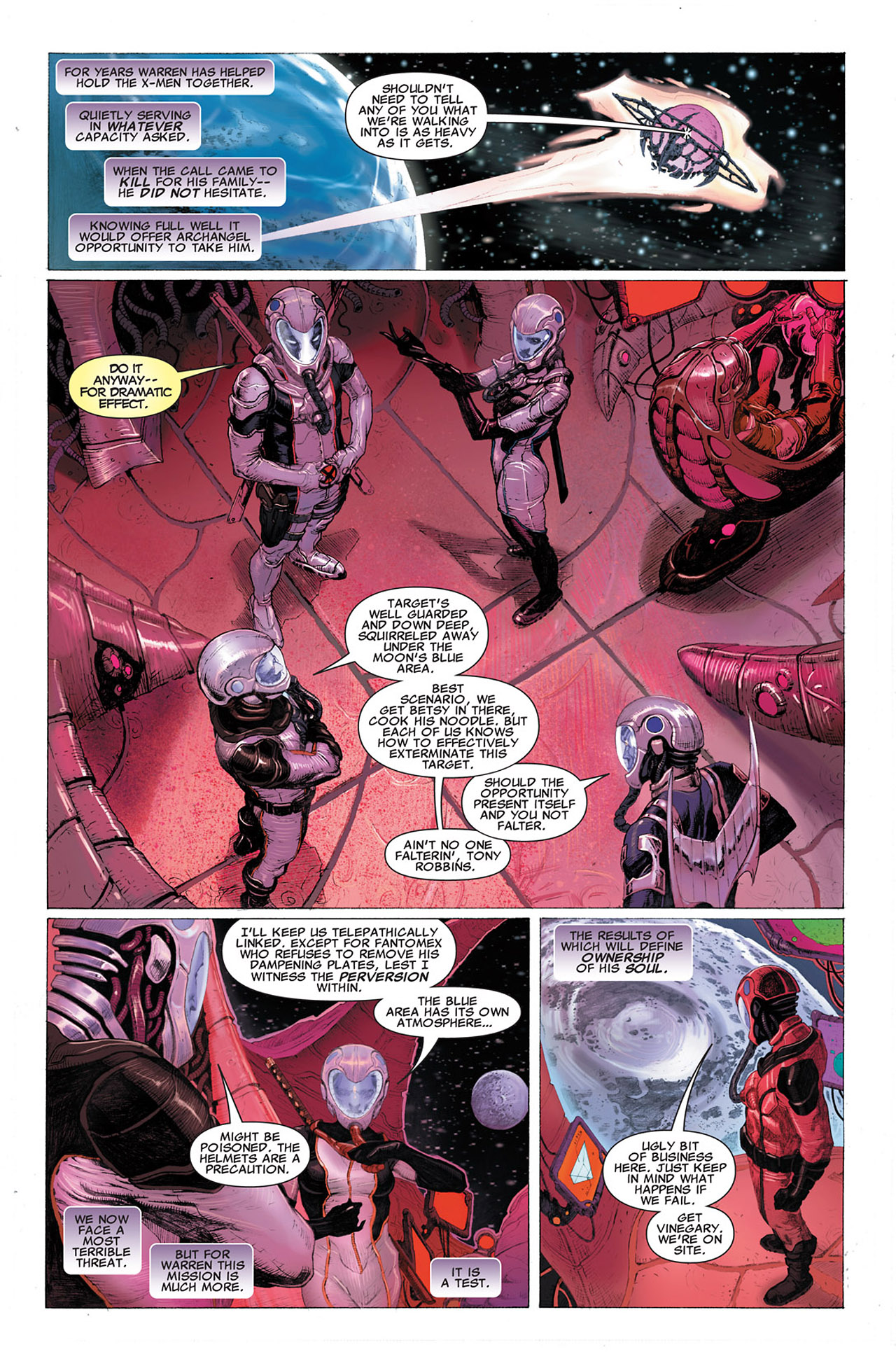 Read online Uncanny X-Force (2010) comic -  Issue #2 - 15