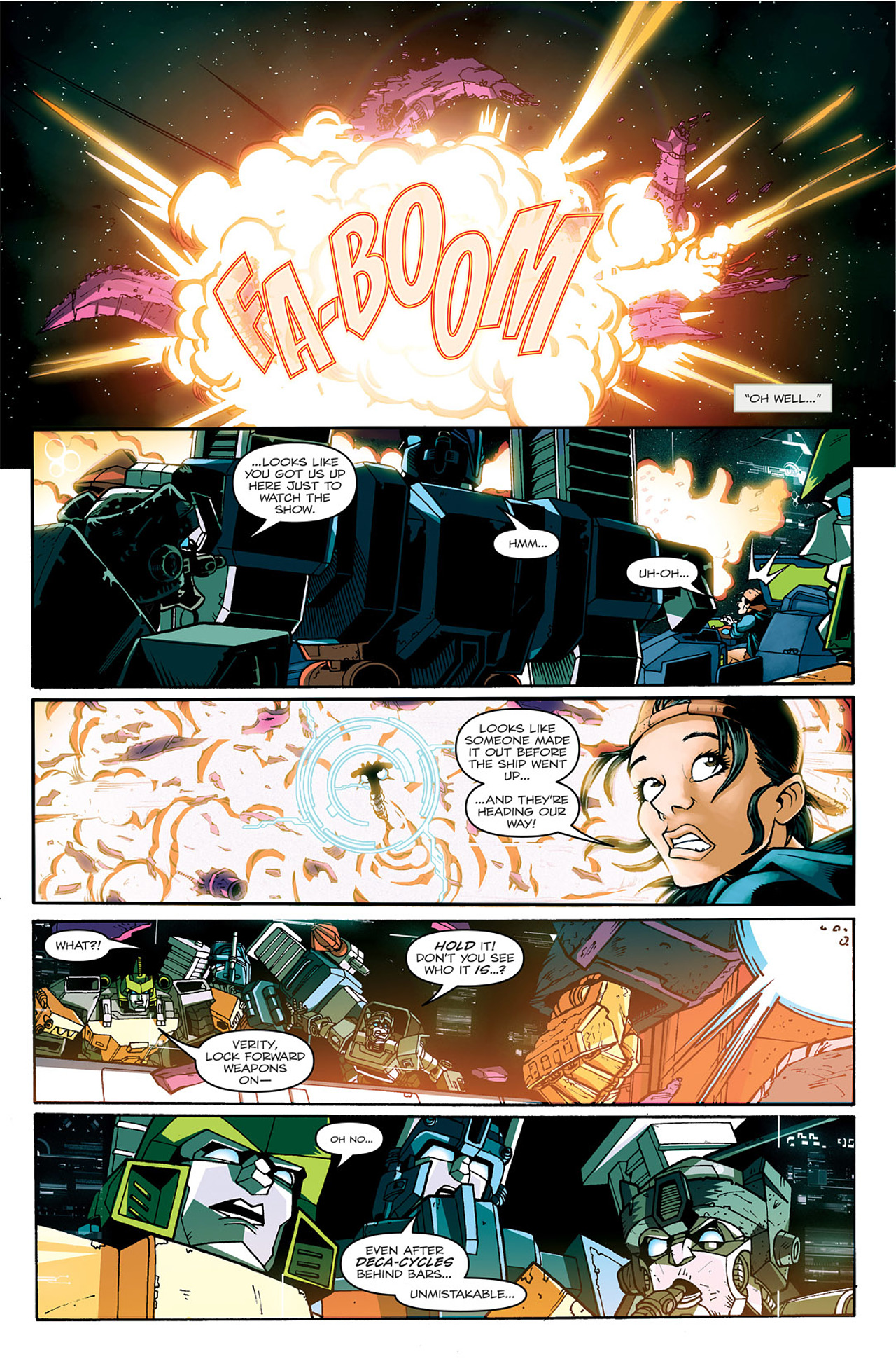 Read online Transformers: Last Stand of The Wreckers comic -  Issue #1 - 26