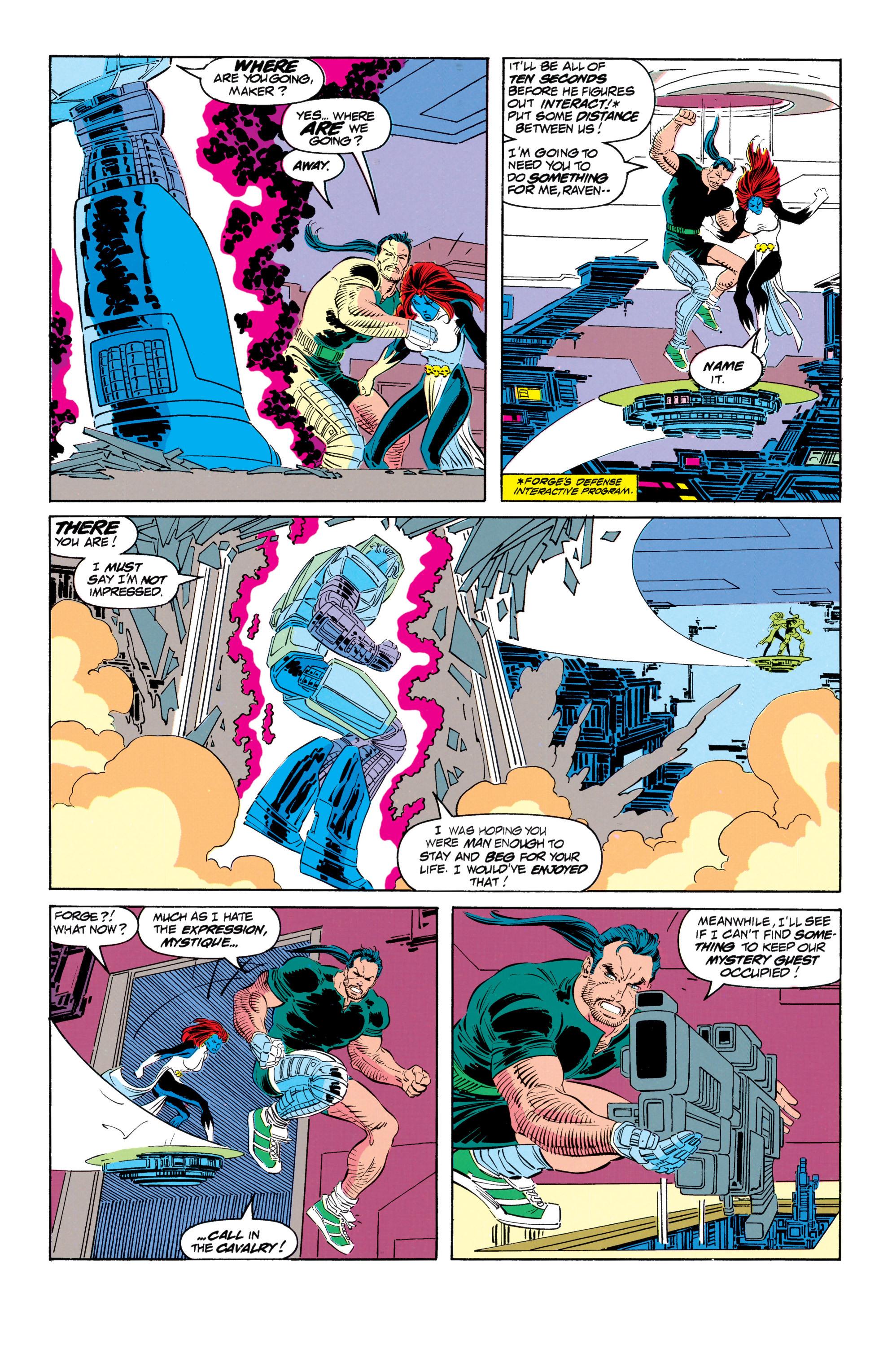 Read online Uncanny X-Men (1963) comic -  Issue #301 - 14