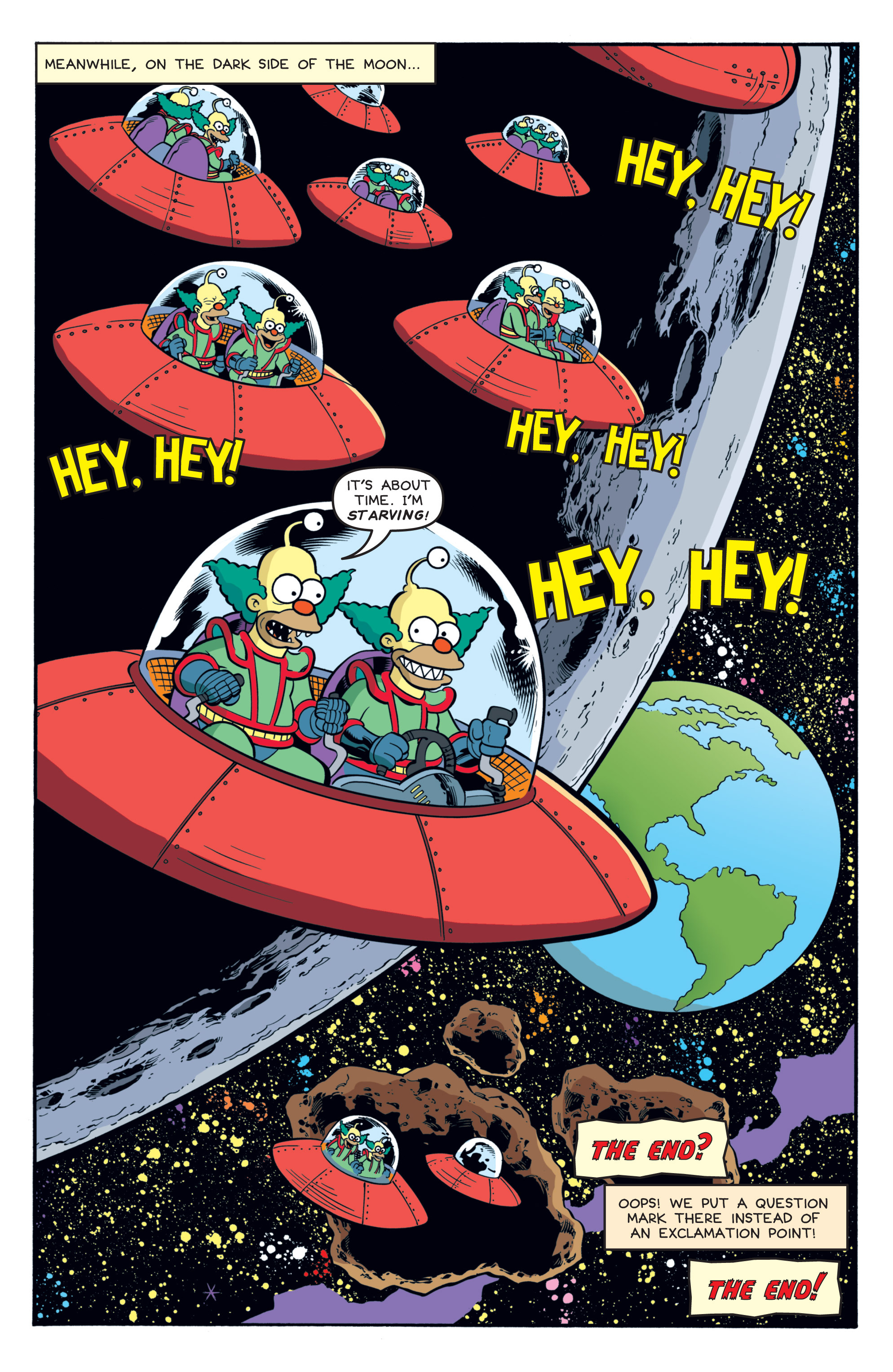 Read online Treehouse of Horror comic -  Issue #19 - 27