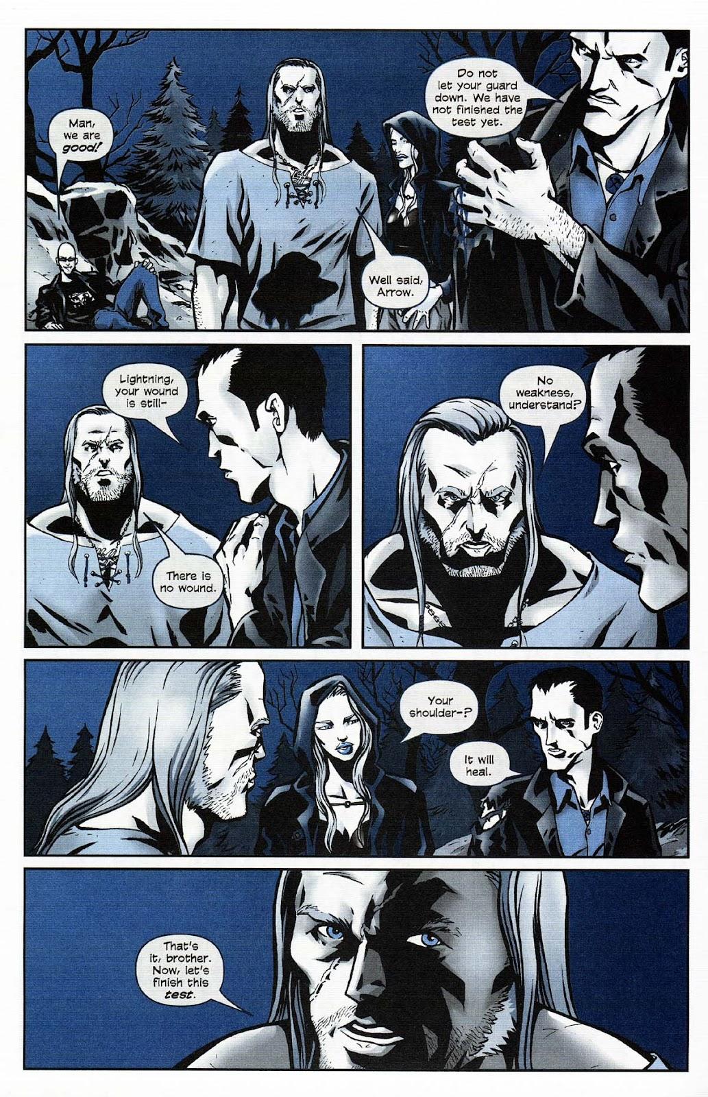 Read online Werewolf the Apocalypse comic -  Issue # Get of Fenris - 22