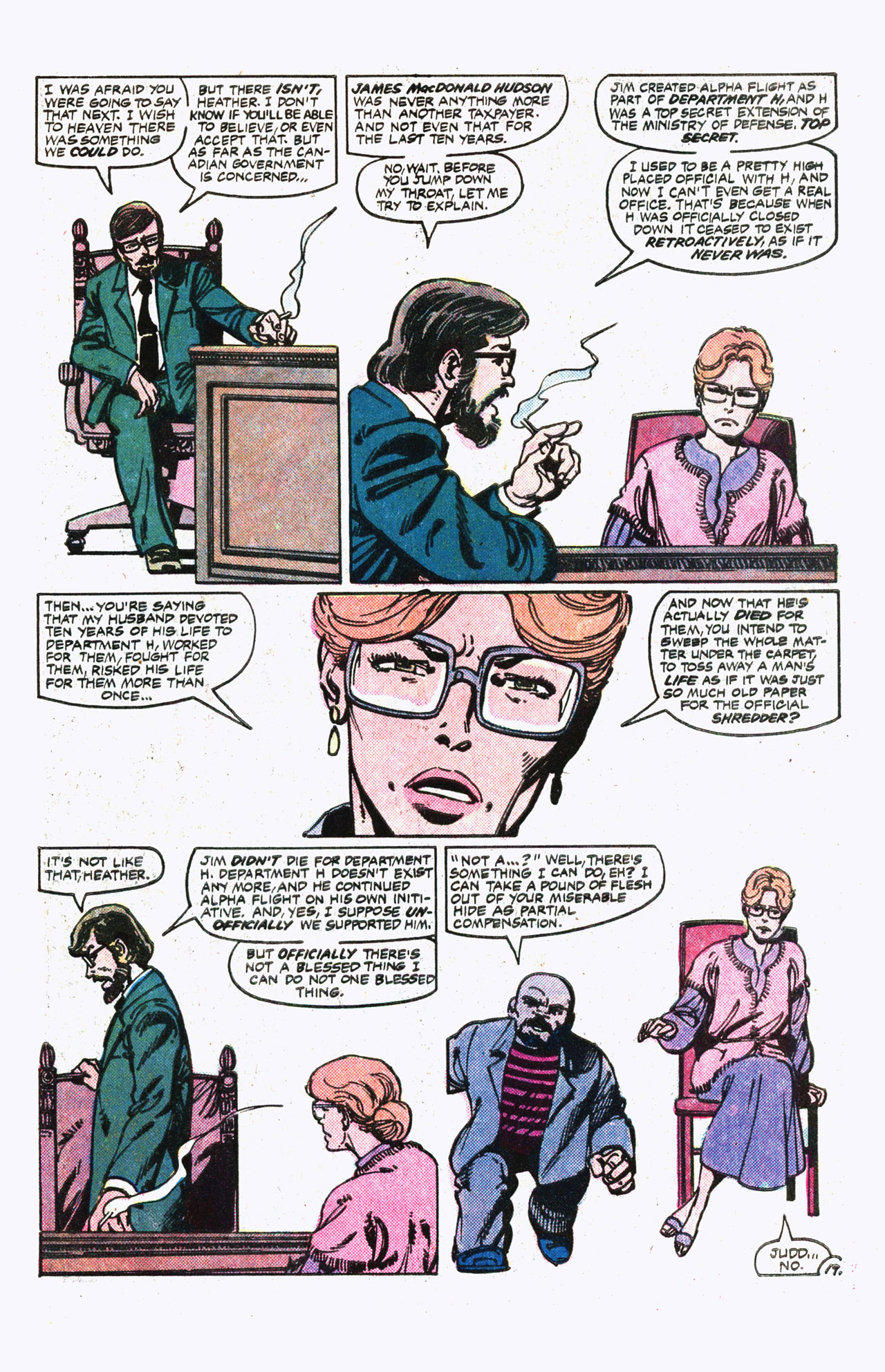 Read online Alpha Flight (1983) comic -  Issue #13 - 20