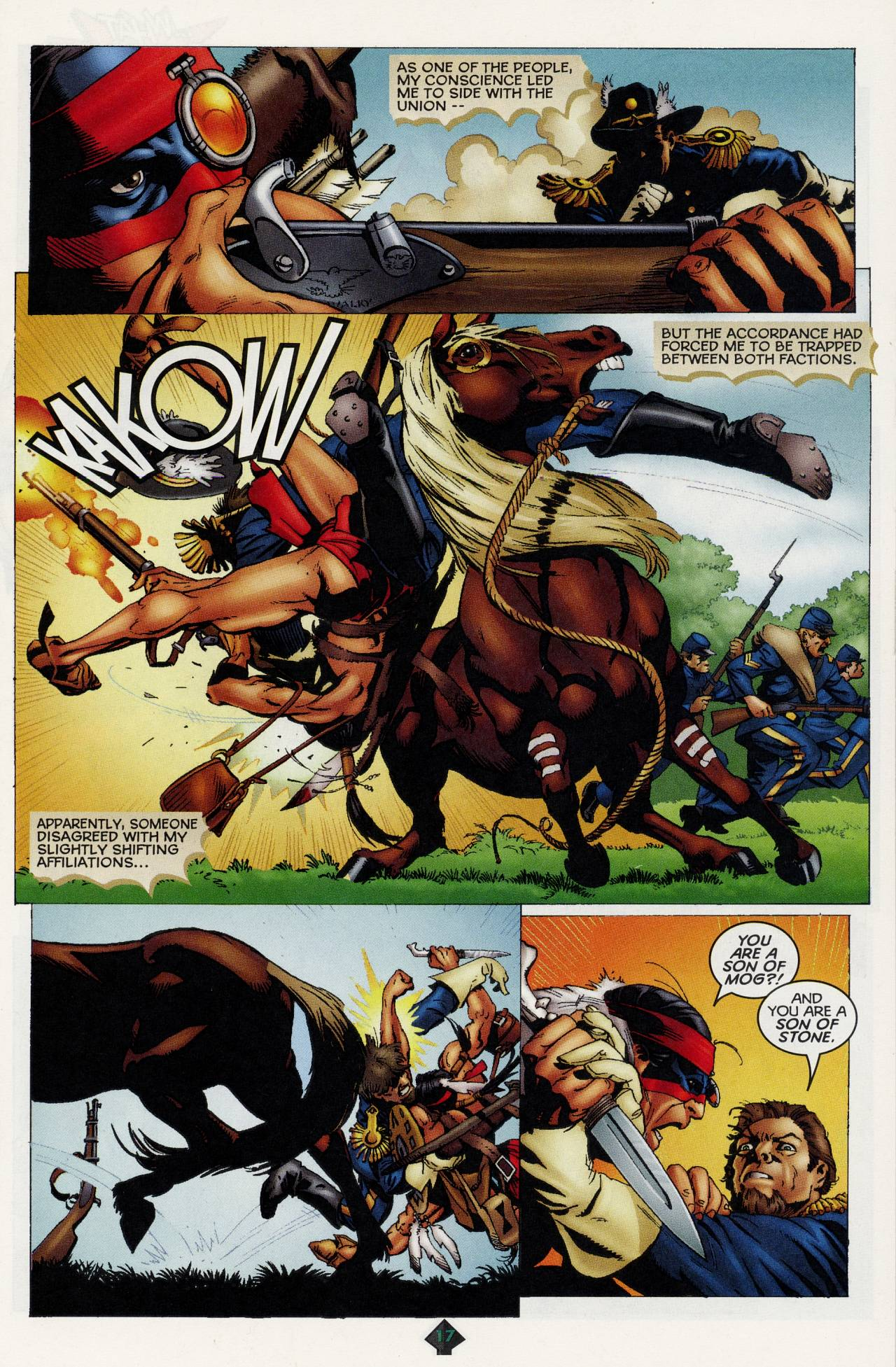 Read online Turok: Tales of the Lost Land comic -  Issue # Full - 15