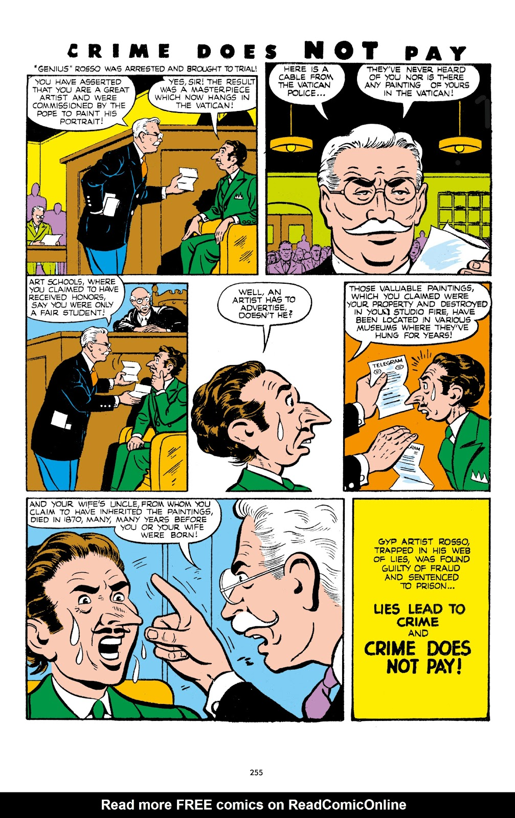 Read online Crime Does Not Pay Archives comic -  Issue # TPB 7 (Part 3) - 56
