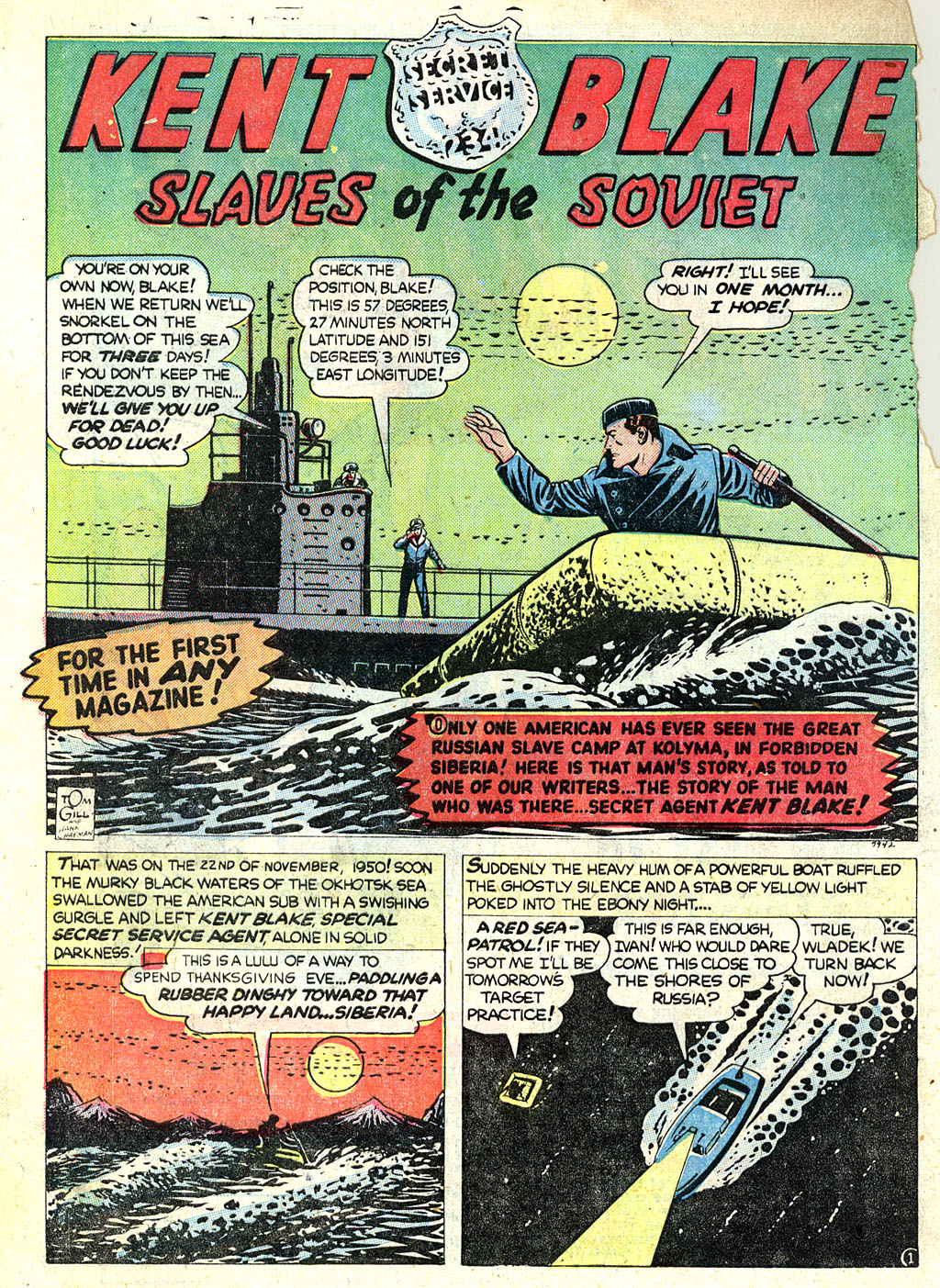 Kent Blake of the Secret Service issue 1 - Page 12