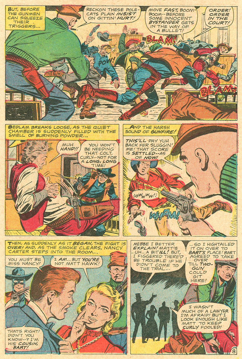 Read online Two-Gun Kid comic -  Issue #92 - 11