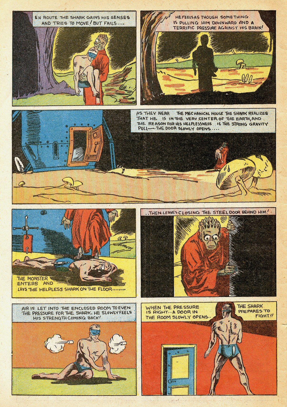 Read online Amazing Man Comics comic -  Issue #10 - 63