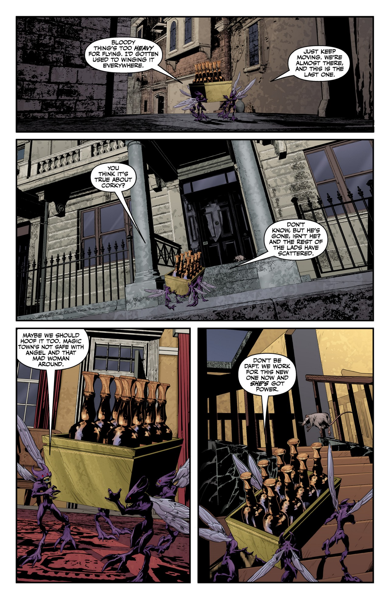 Read online Angel & Faith Season 10 comic -  Issue #4 - 22