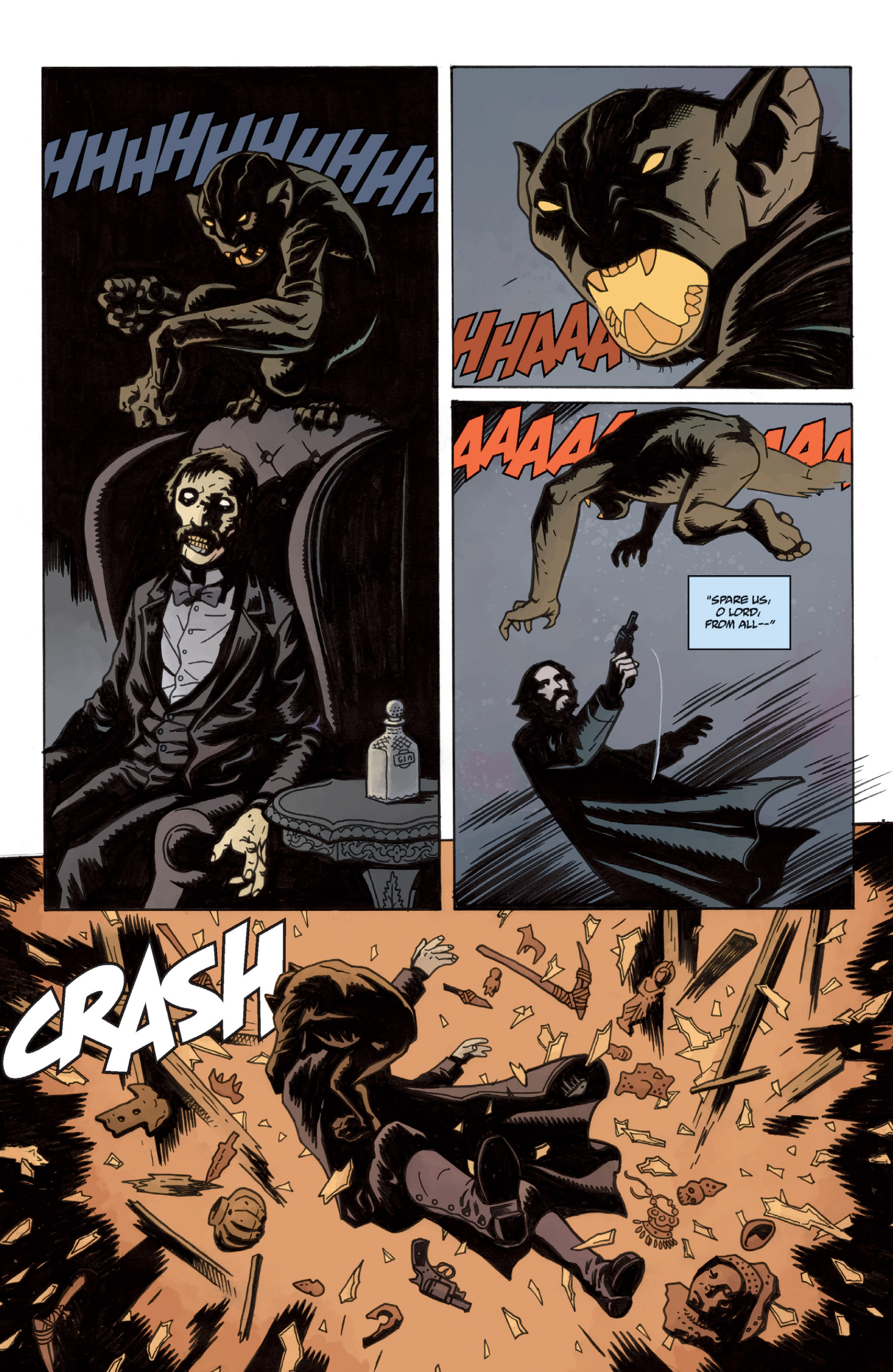 Read online Sir Edward Grey, Witchfinder: In the Service of Angels comic -  Issue # TPB - 17