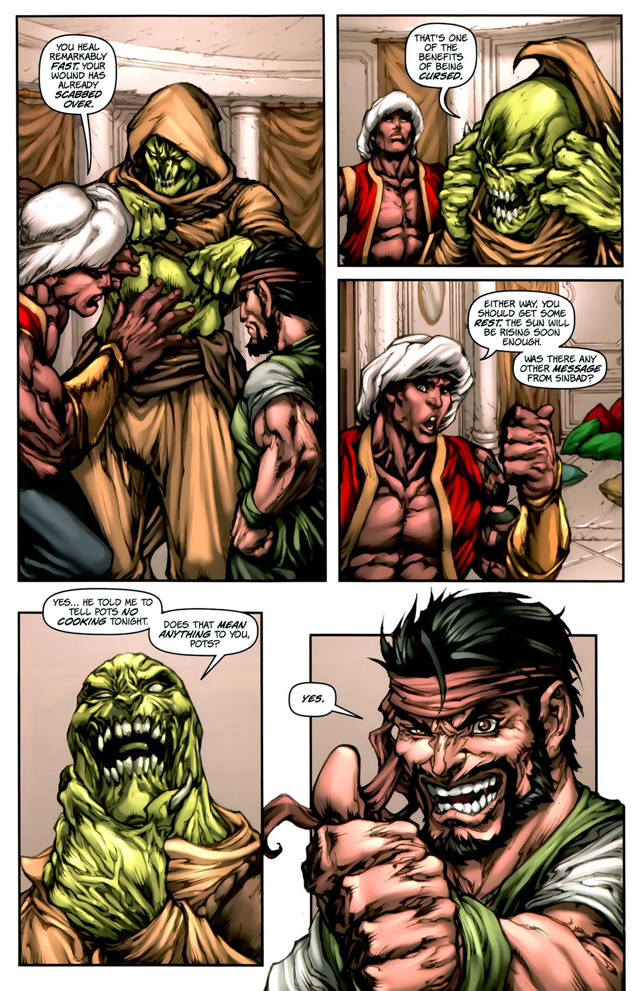 Read online 1001 Arabian Nights: The Adventures of Sinbad comic -  Issue #2 - 17
